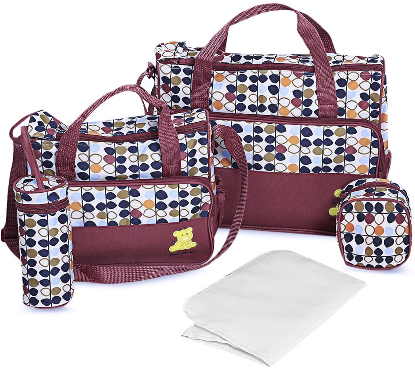 c6733e44 ... Nappy Changing Bag For Travel|Tote Mummy Shoulder Nursing Handbag|  Multi Storage Large Capacity Maternity Bags For Mom Mutli Storage Diaper ...