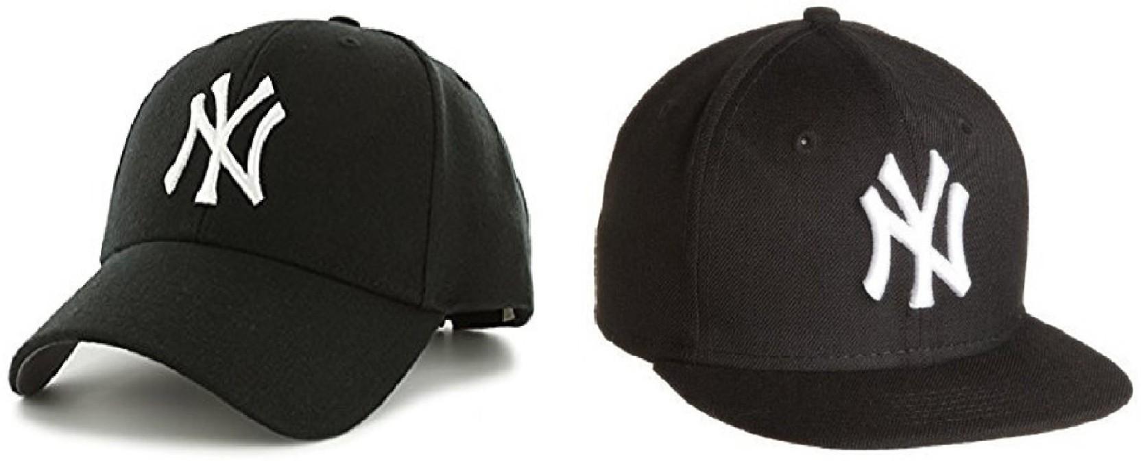 CROSS JAGUAR Embroidered Solid NY Hip Hop Unisex Cap Cotton Snapback  Baseball (Pack Of 2 37c5528f3196
