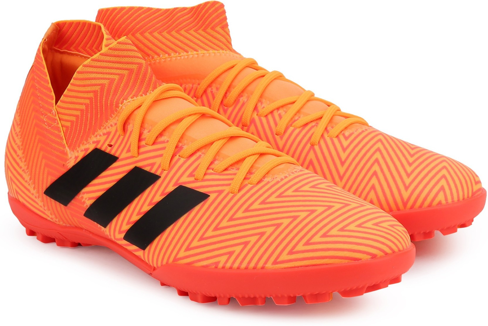 pretty nice 15094 06d9e ADIDAS NEMEZIZ TANGO 18.3 TF Football Shoes For Men (Orange)