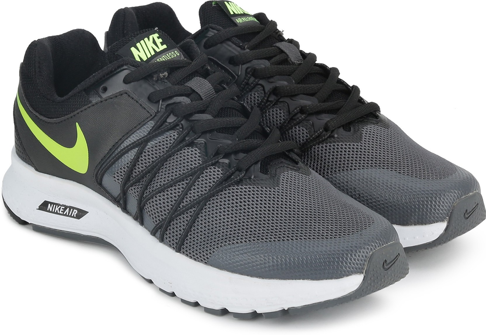 c2f664bca3a Nike AIR RELENTLESS 6 MSL Running Shoes For Men - Buy BLACK ...