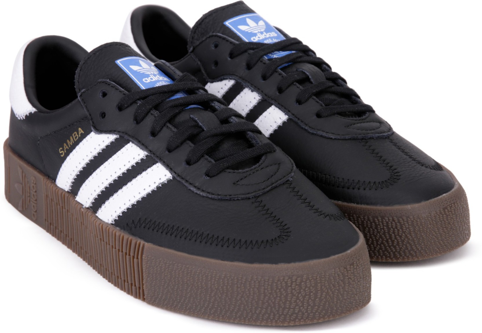 7d7dfc333f58 ADIDAS ORIGINALS SAMBAROSE W Running Shoes For Women - Buy CBLACK ...