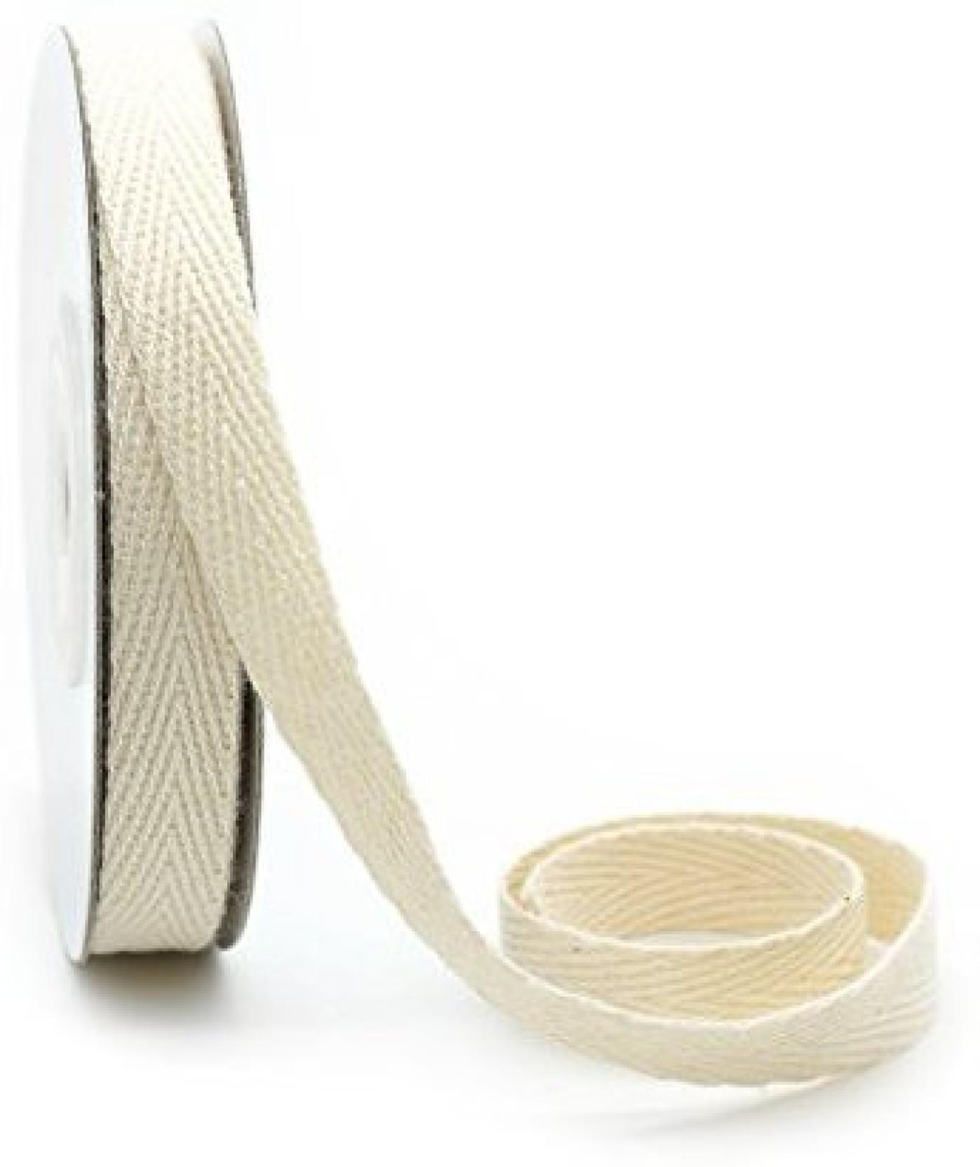 Ct Craft Llc Cotton Twill Ribbon 3/8 Inch (10Mm) X 10 Yards