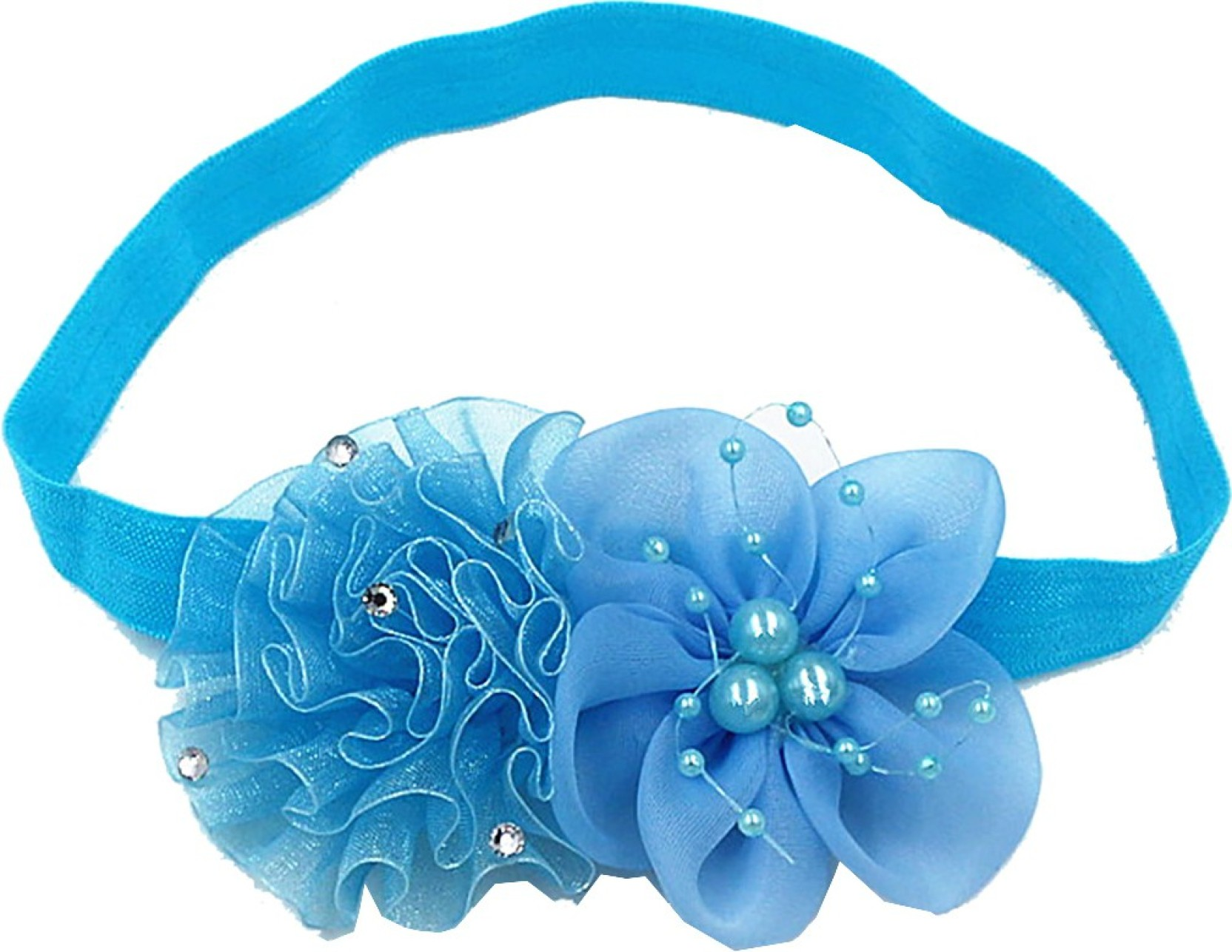 Kid Girl Baby Headband Toddler Chiffon Bow Flower Hair Band Accessories Headwear