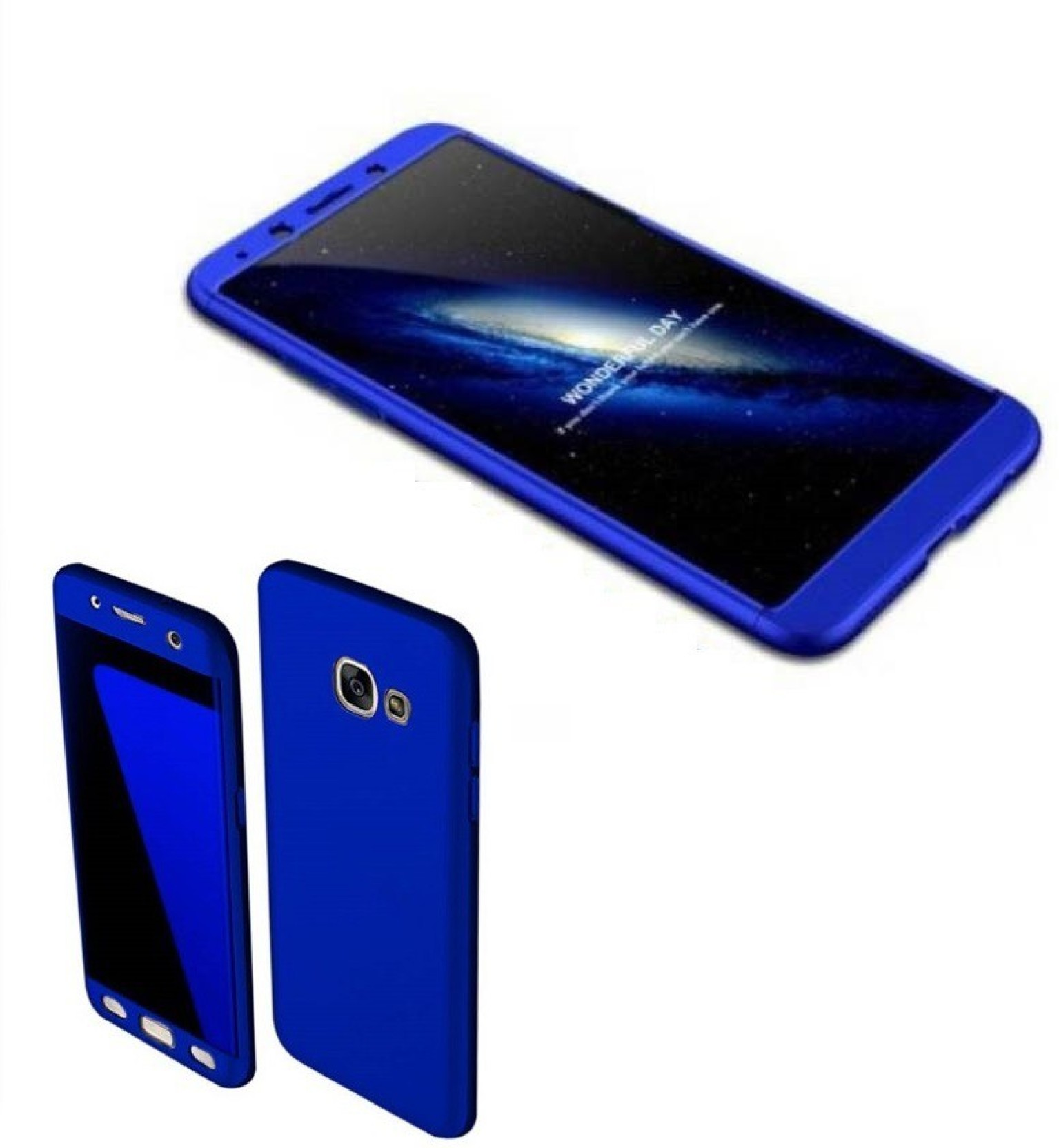 ed816a2b7b1 COVERBLACK Back Cover for Samsung Galaxy J7 Max - SM-G615FZDDINS Ipaky 360  (Royal Blue