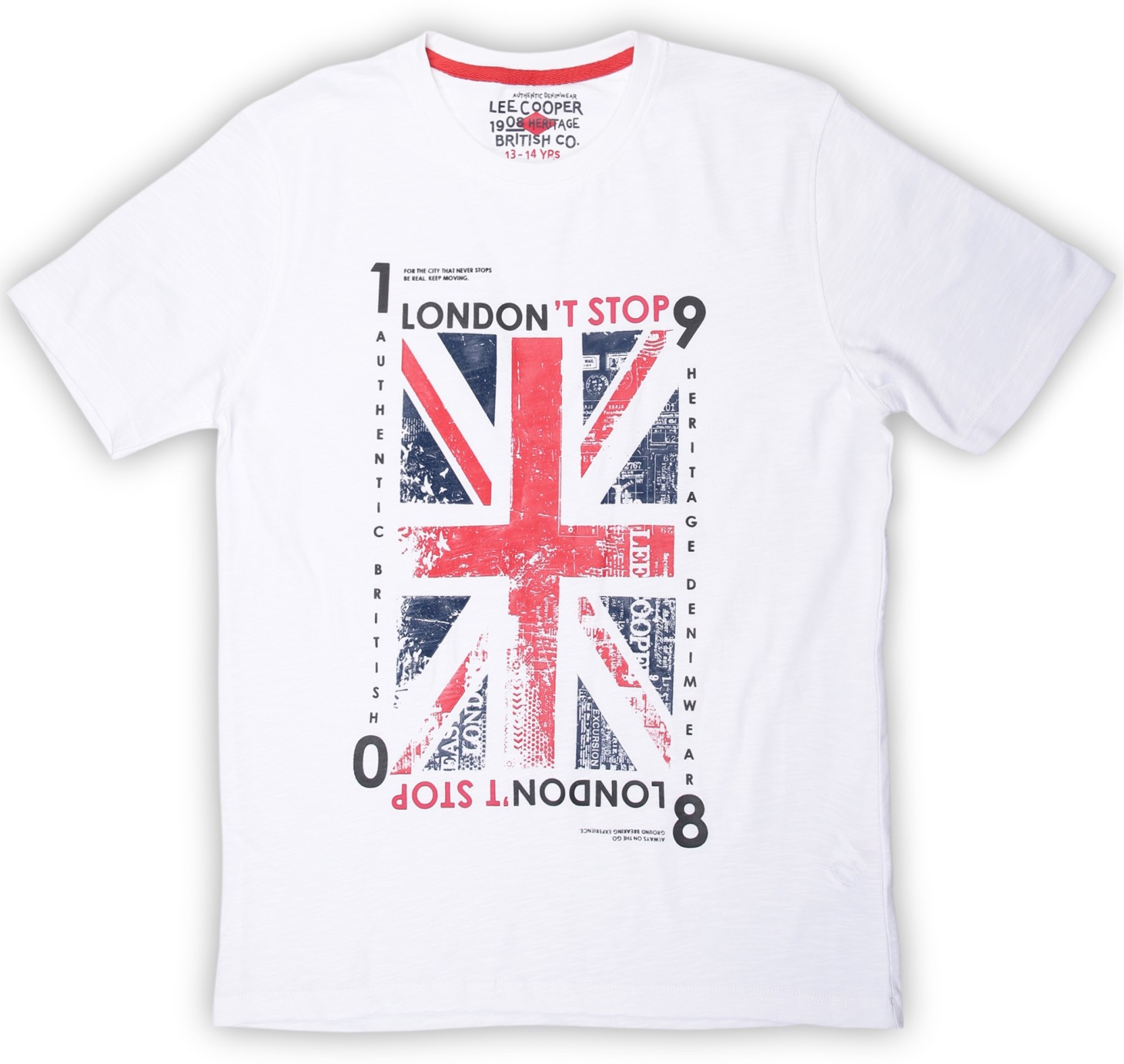 56b796e8c Lee Cooper Boys Printed Cotton T Shirt Price in India - Buy Lee ...