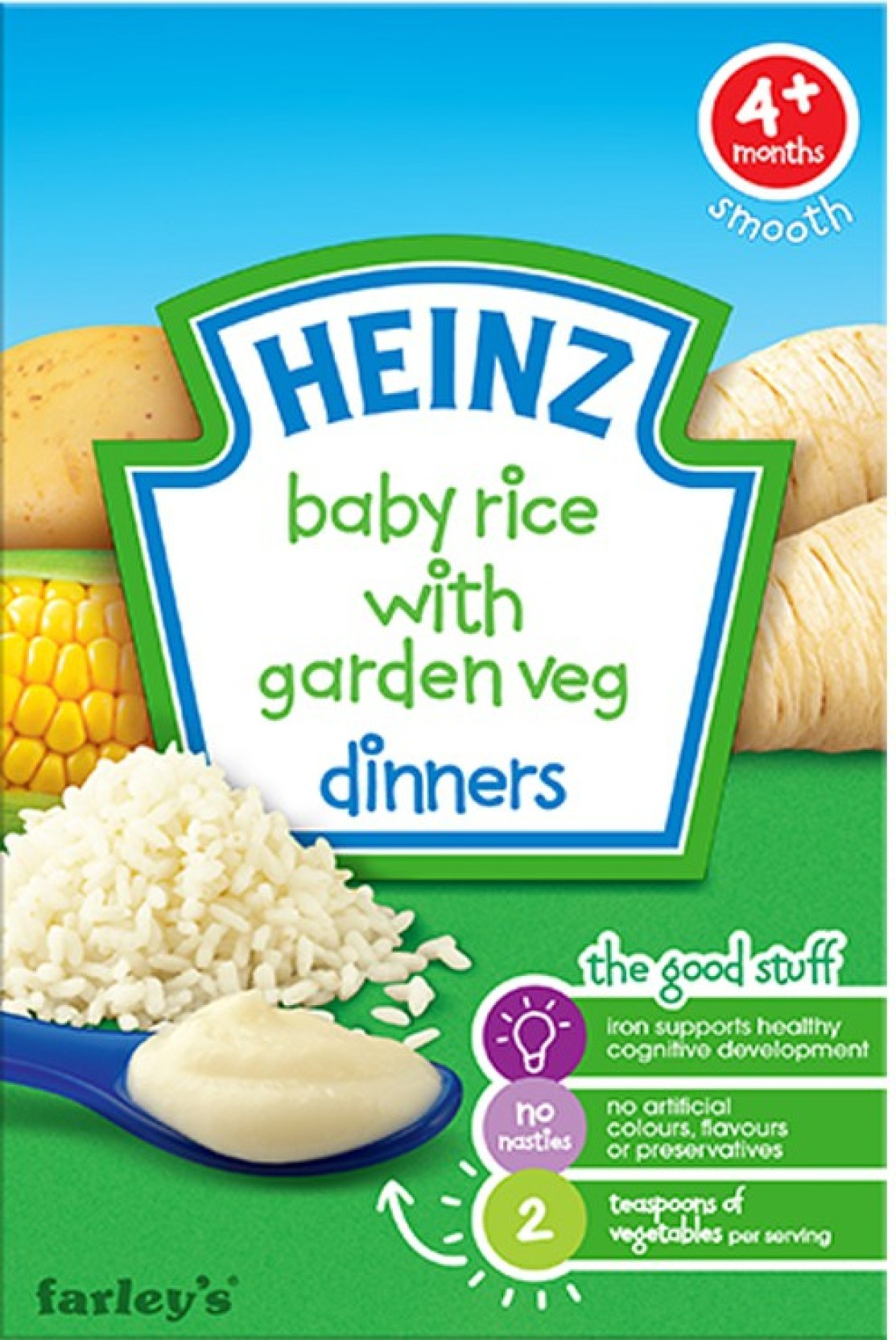 Heinz Baby Rice With Garden Veg Dinner Cereal 125g Price In Food Add To Cart