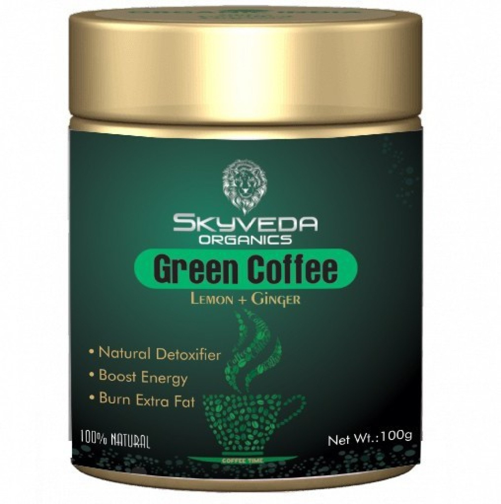 Skyveda Organics Green Coffee Beans Powder For Weight Loss Best Fat Capsule Pure Arabica Organic 60 Caps Add To Cart
