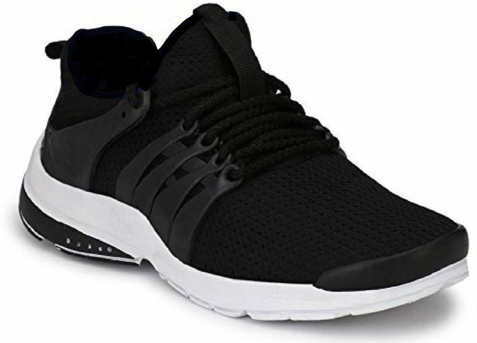 815db50c9fca4f Foot Locker Men s Nitro Series Mesh Running Shoe Running Shoes For Men ( Black)