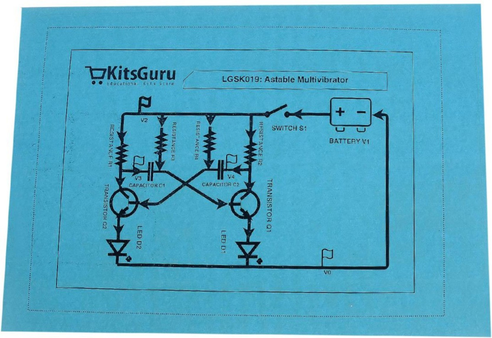 Left Is The Monostable Circuit Drawn As A Circuit Diagram