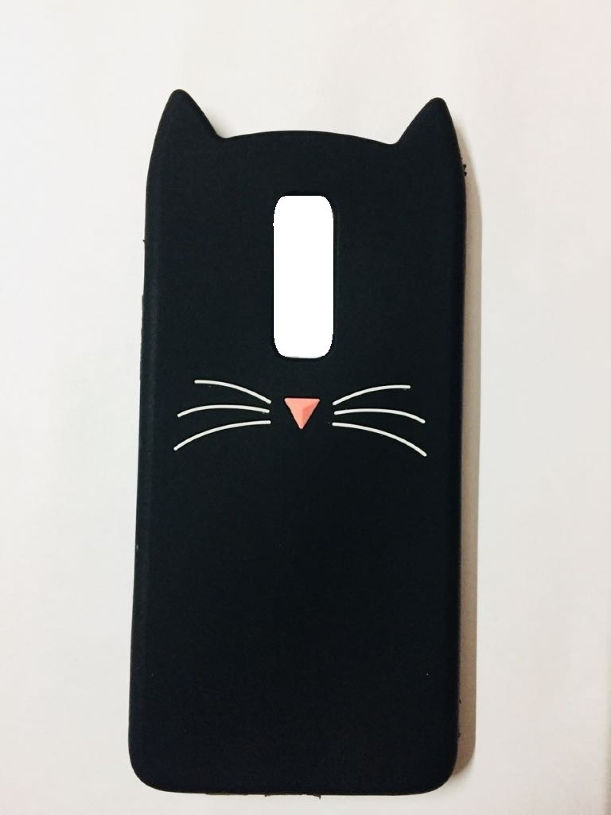 cheap for discount df04c 917b0 Acesquare Back Cover for OnePlus 6 Cute Cartoon Beard Cat Ear Phone ...