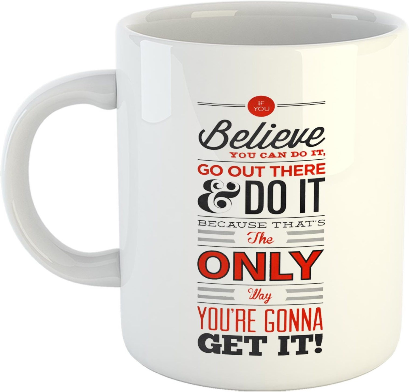 Gen7 Believe You Can Do It Motivational Quote Printed Coffee Gift Circuit Board Manufactureronline Quoteprinted Add To Cart