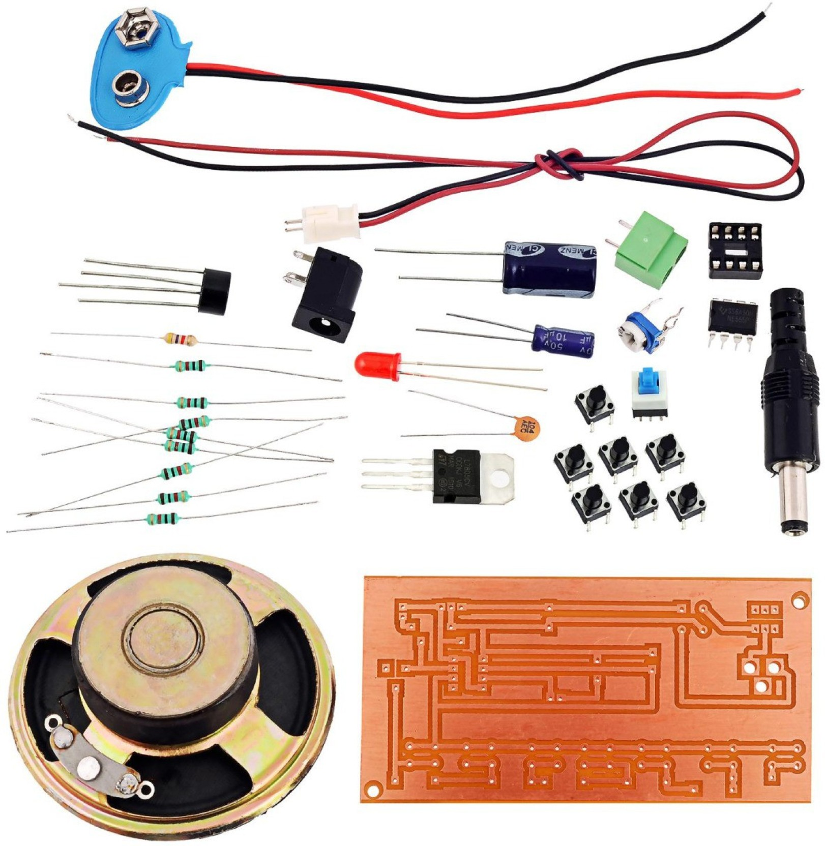 Kitsguru Toy Organ Cum Mini Casio Lgkt060 Educational Electronic Electrical Circuit Kits Add To Cart