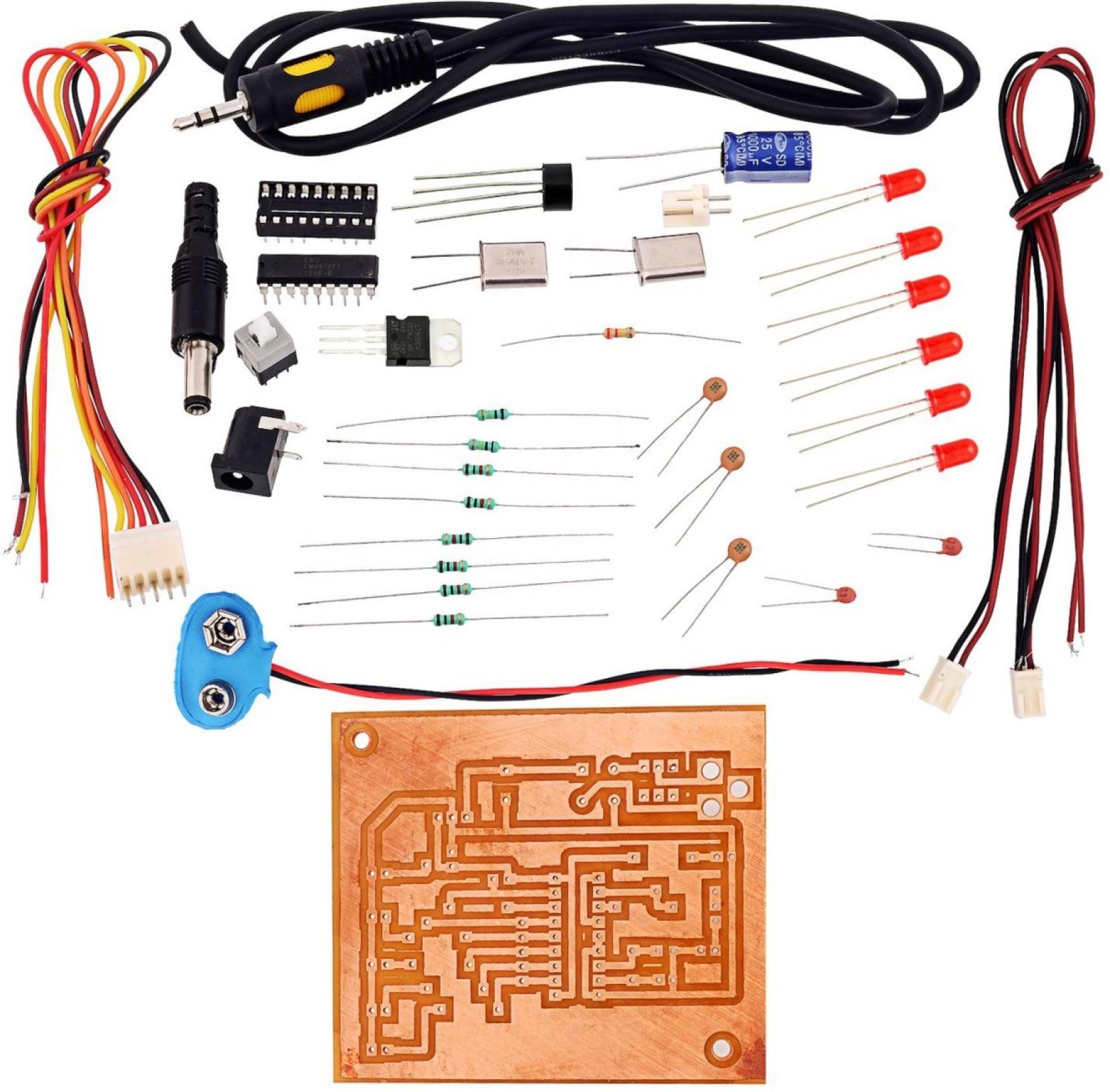 Kitsguru Dtmf Receiver Ic Mt8870 Tester Lgkt052 Educational Decoder Working Electronic Circuits Youtube Hobby Kit Add To Cart