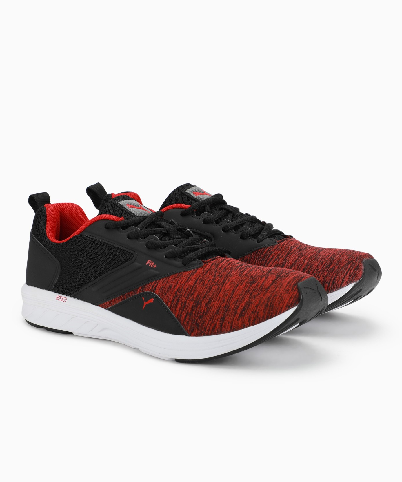 finest selection c139c d651a Puma Comet IPD Running Shoes For Men (Red, Black)