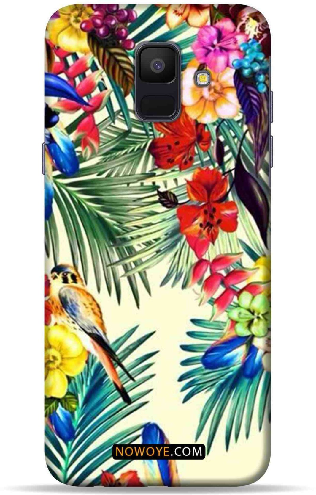 best loved 53112 477e4 Now Oye Back Cover for Now Oye Samsung Galaxy A6 - THE AMAZON FOREST ...