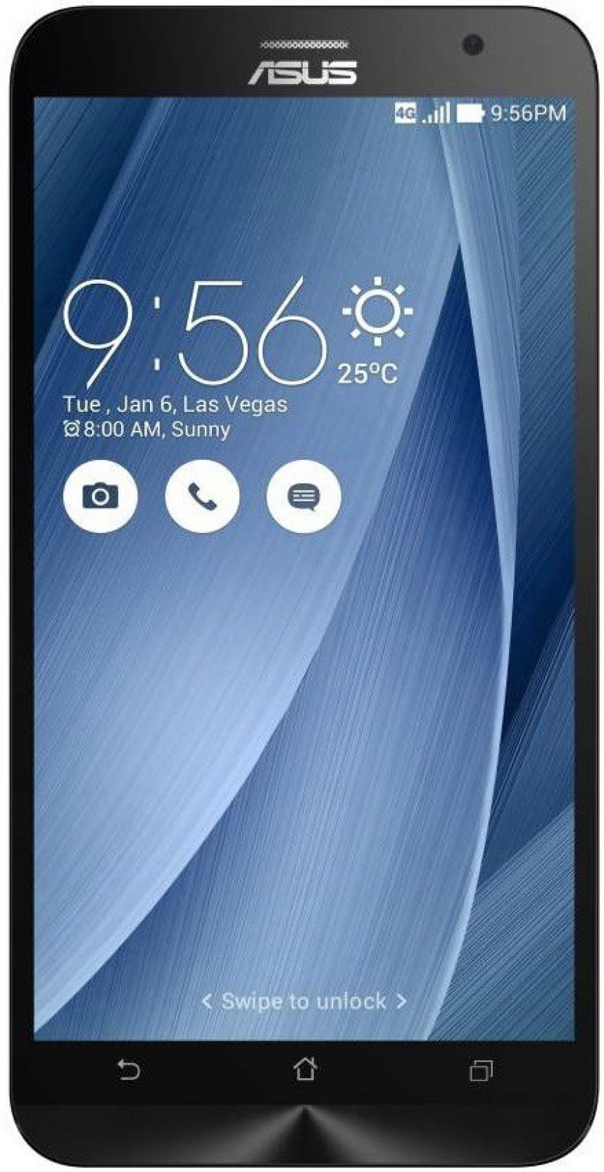 Asus Zenfone 2 Ze551ml Silver 64 Gb Online At Best Price Only On Ram4 32gb Add To Cart