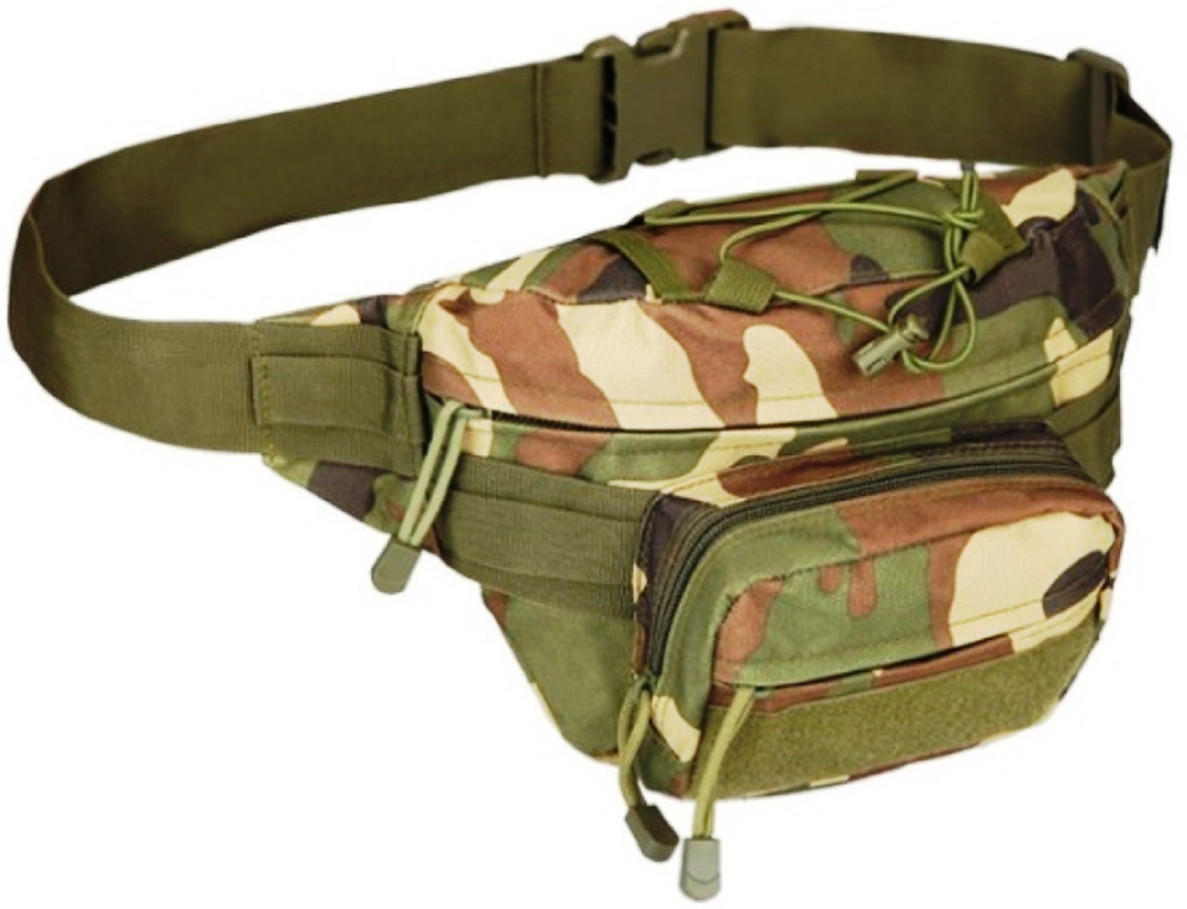 Unigear Military Fanny Pack Tactical Waist Bag Water Resistant Sarung Hp Pounch Army Home