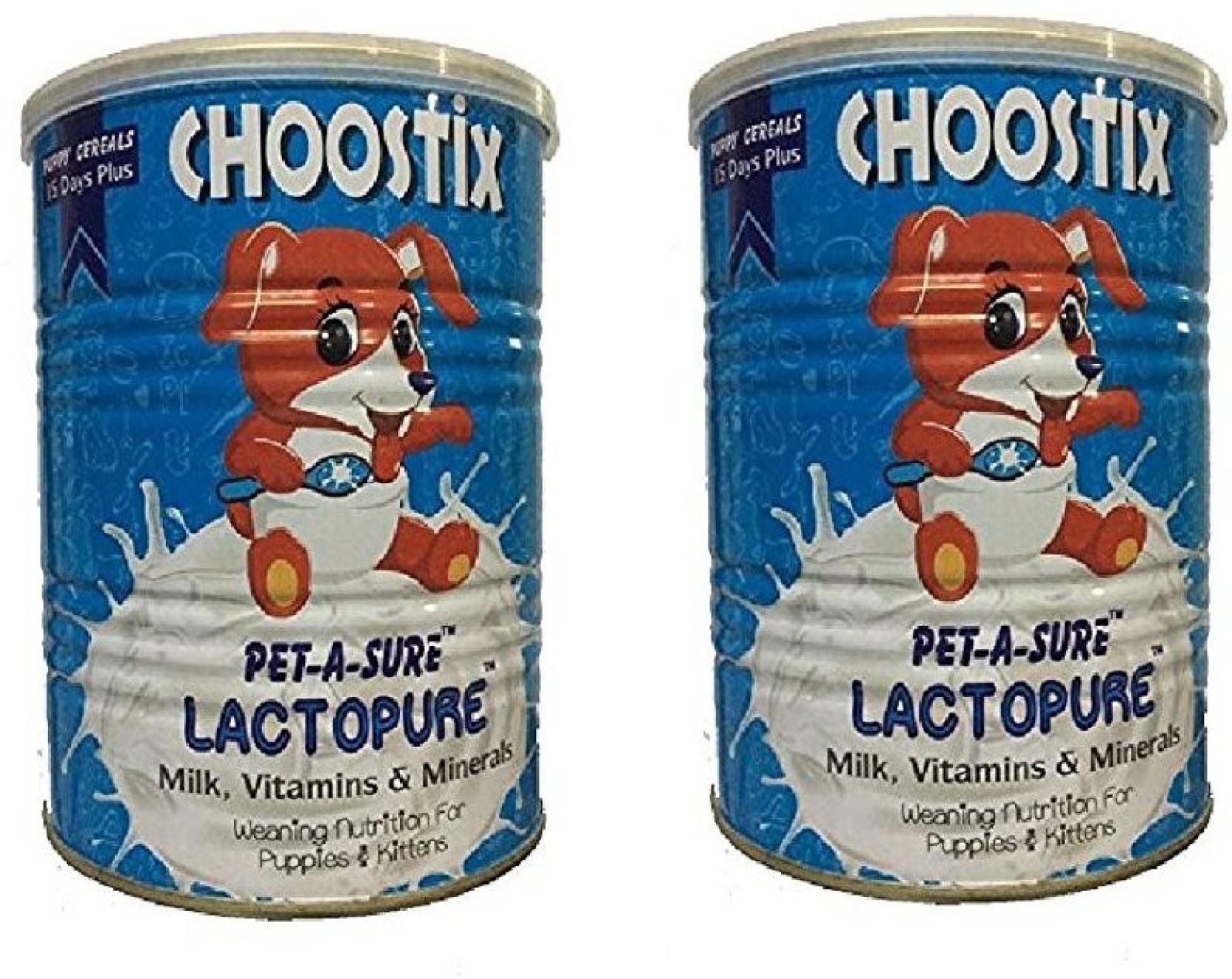 choostix Petasure Lactopure Milk, Vitamins and Minerals For