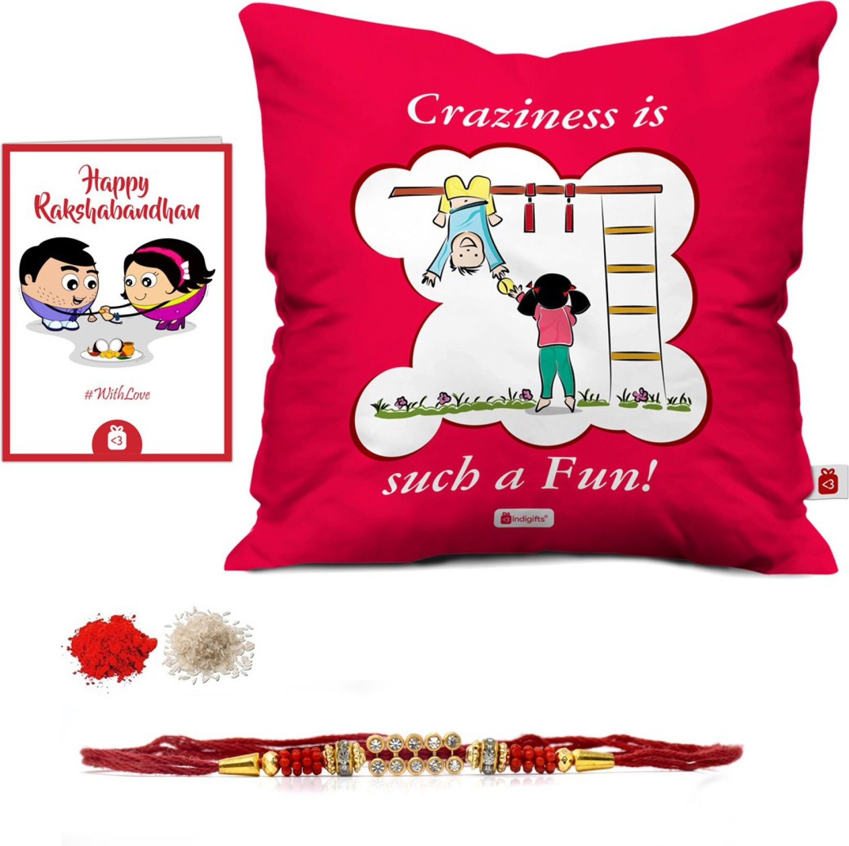 Indigifts Rakhi Gift Designer Cushion Greeting Card Set Printed Circuit Board Manufactureronline Quoteprinted Add To Cart