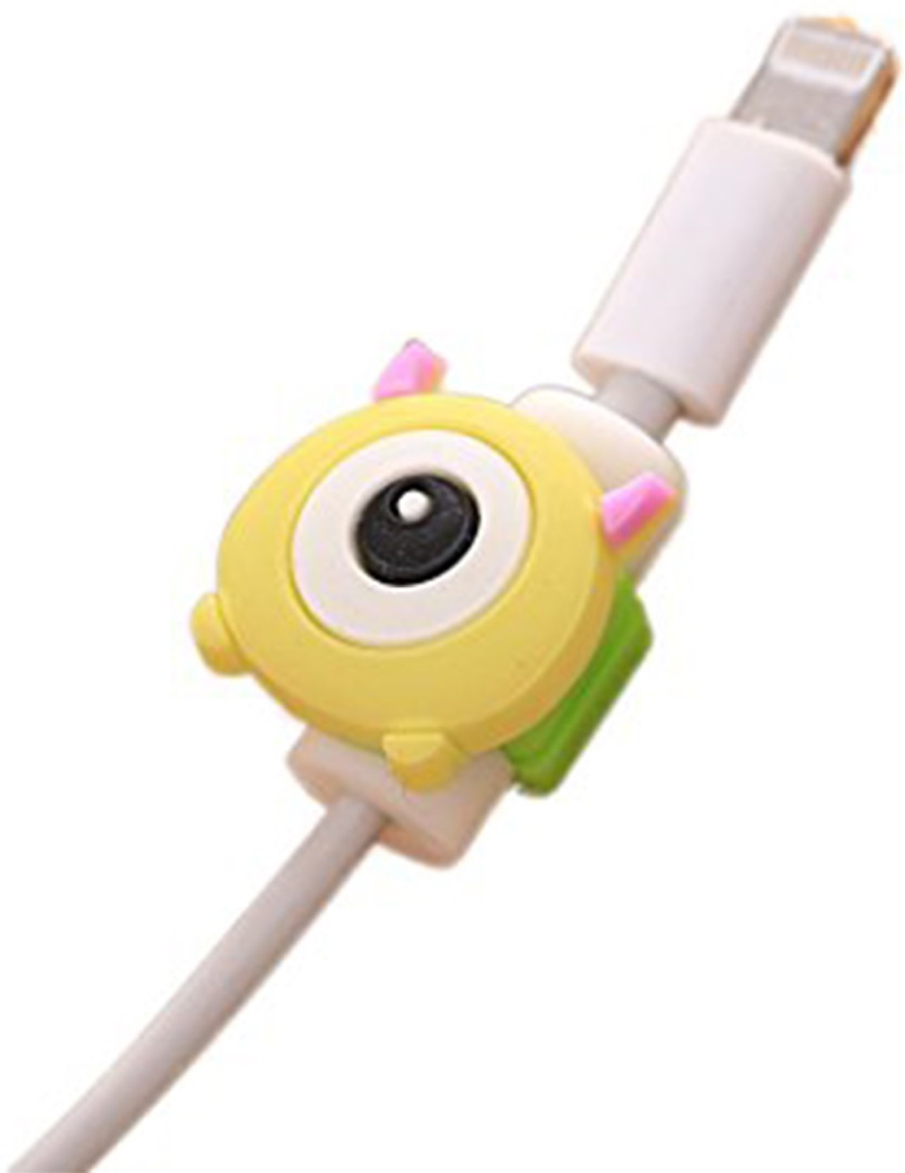 Lovely Cartoon Charger Cable Winder Protective Case Saver 8 Pin Data Line Protector Earphone Cord Protection Sleeve Wire Cover Digital Cables