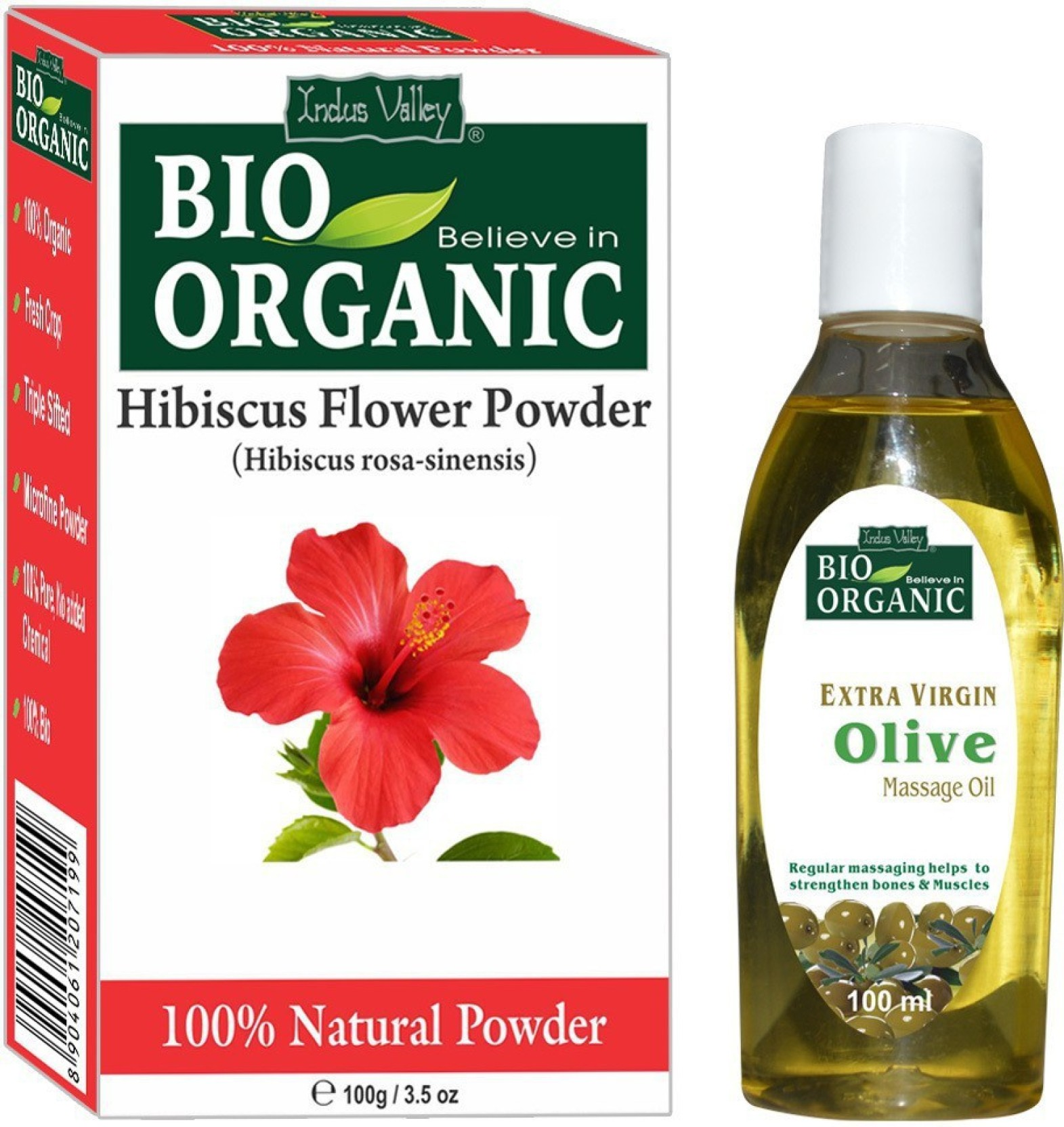 Indus valley organic hibiscus powder and olive oil for extra soft add to cart izmirmasajfo