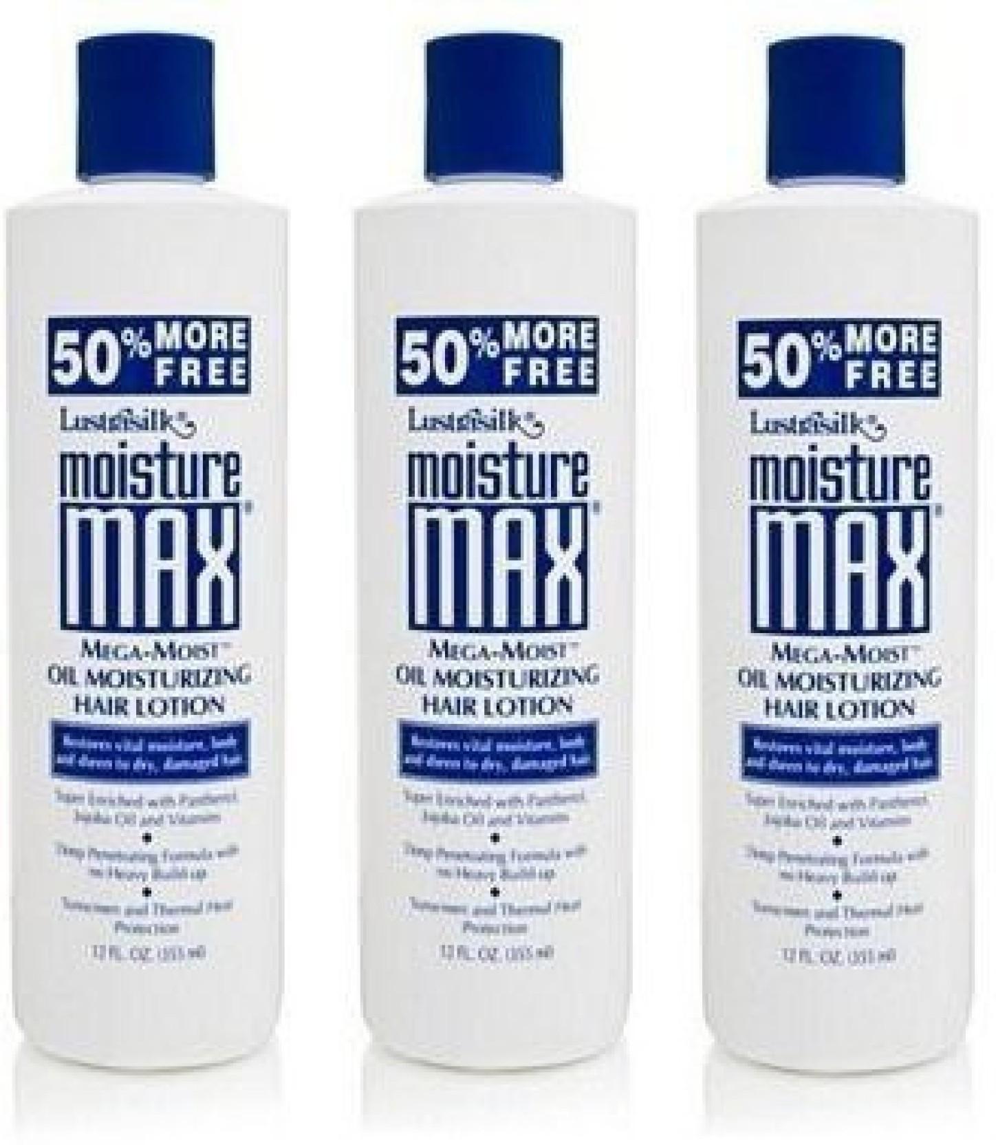 Lustrasilk Moisture Max Mega Moist Oil Moisturizing Hair Lotion 12 Original Sprout Ampamp Body Baby Wash 975 Ml Share