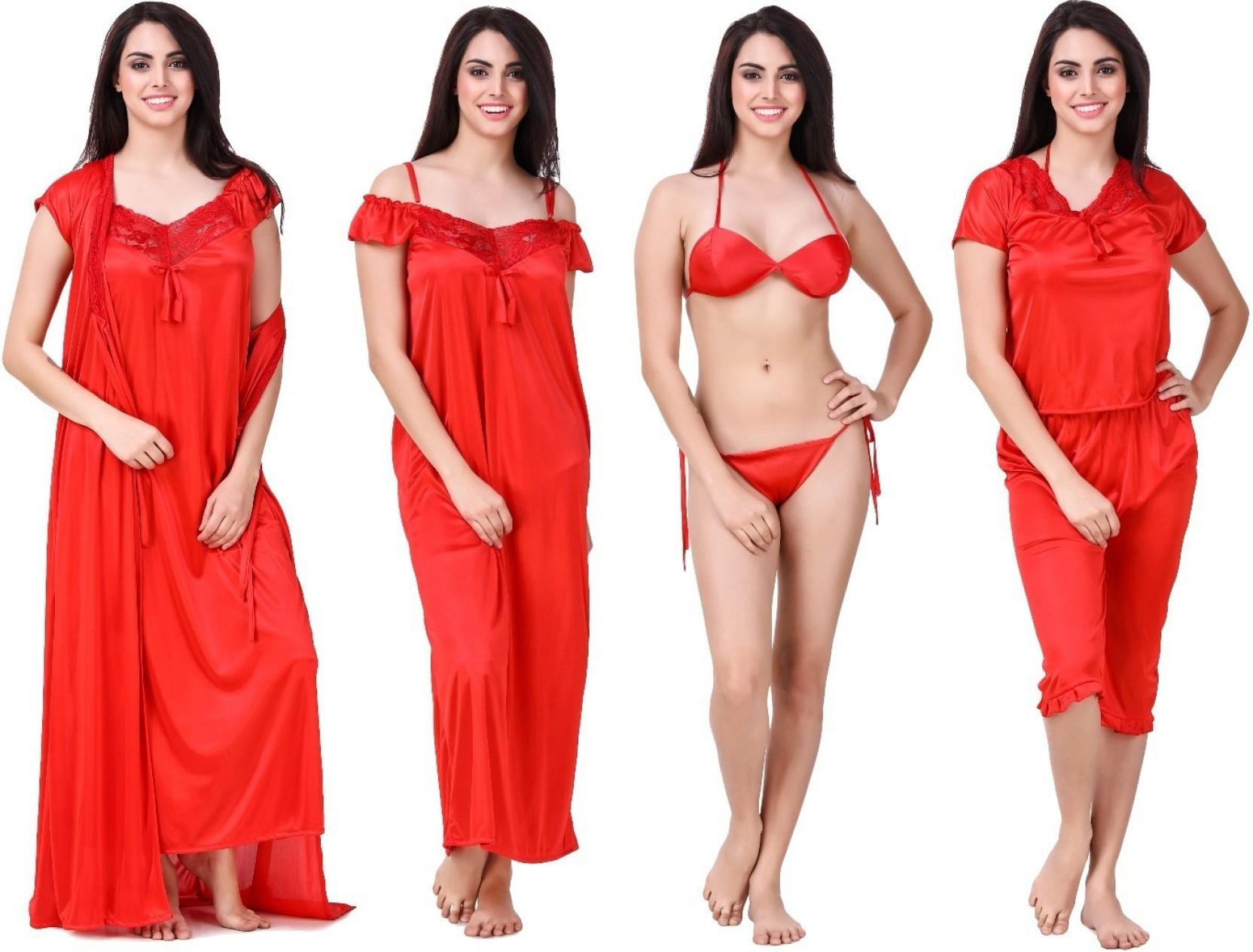 Keoti Women Nighty with Robe - Buy Keoti Women Nighty with Robe ... 78b5a418e