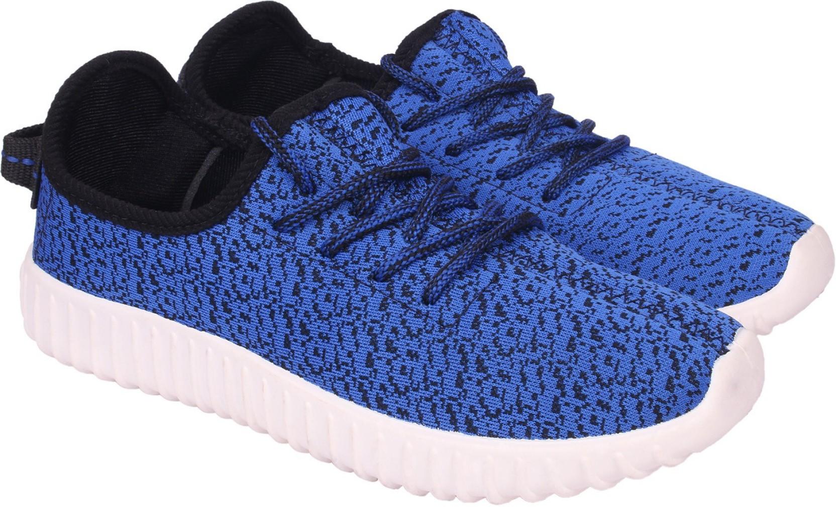 d9e6b3fea9cbc0 Lets Run Canvas Shoes For Men - Buy Royal Blue Color Lets Run Canvas ...