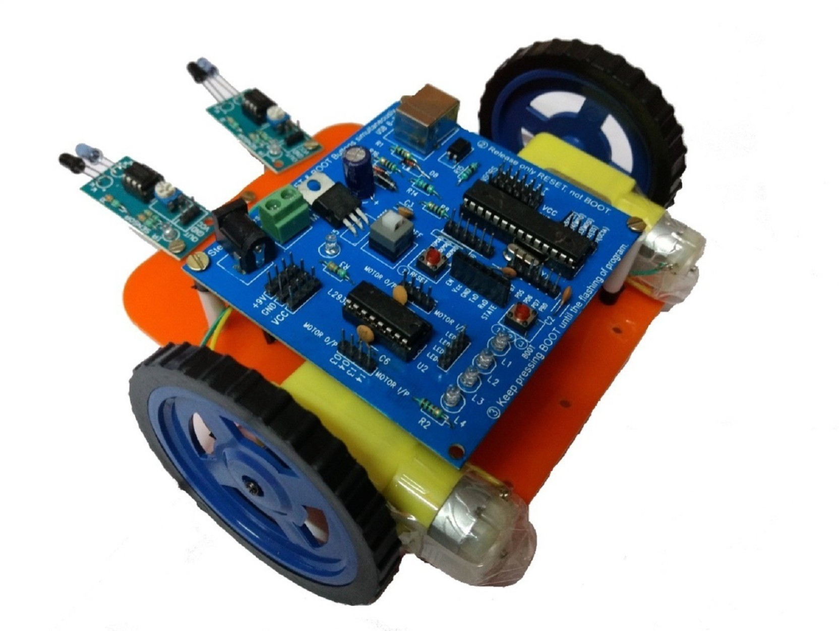 Embeddinator Line Follower Robotic Diy Kit Programmable Price In Driver On Robot Add To Cart