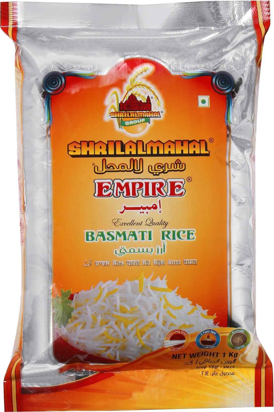 Shri Lal Mahal Empire Basmati Rice Box 10 X 1 Kg Pure Green Organic Long Grain Share
