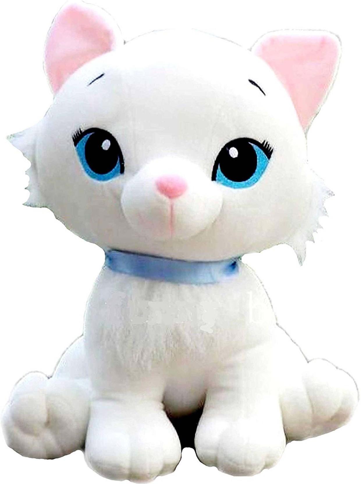 7e394f68dcee CIPS Cute Cat Kitten White Plush
