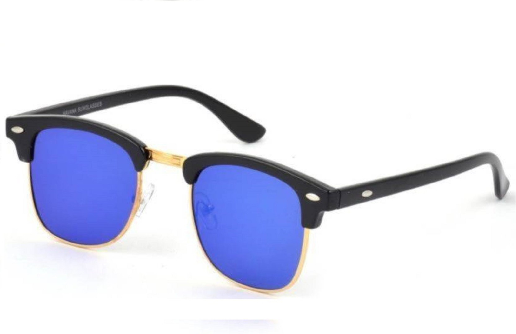 052f1fd538eef Buy Flynn Clubmaster Sunglasses Blue For Men Online   Best Prices in ...