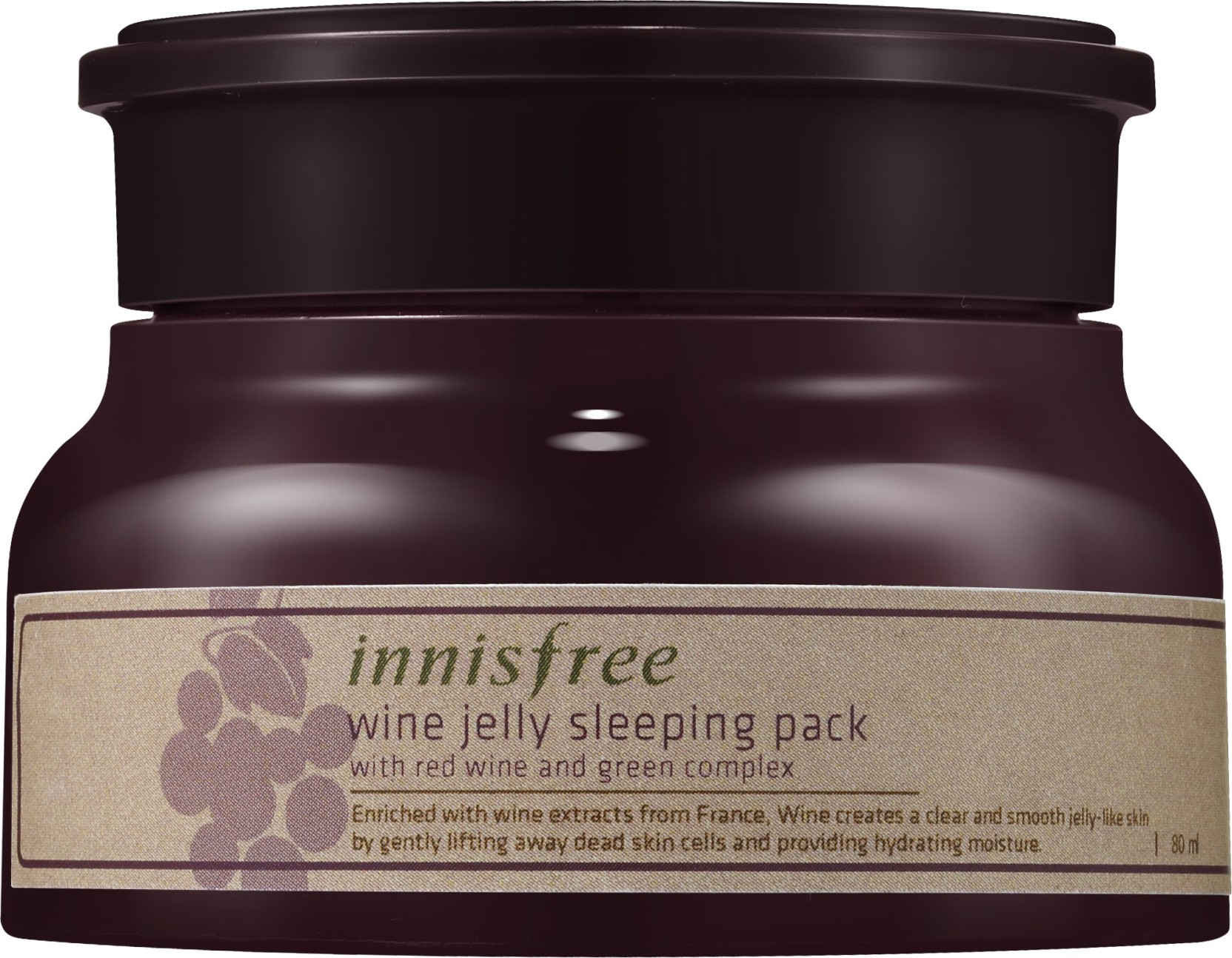 Innisfree Wine Jelly Sleeping Pack Price In India Buy Orchid 80ml Share