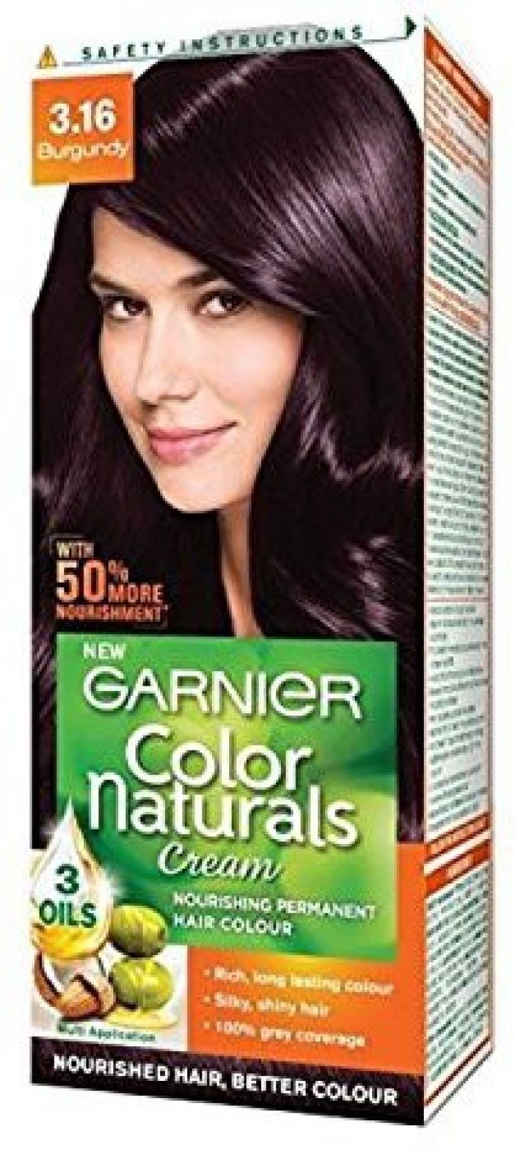 Garnier Color Naturals Cream 316 Burgundy 29ml 16g Hair Color