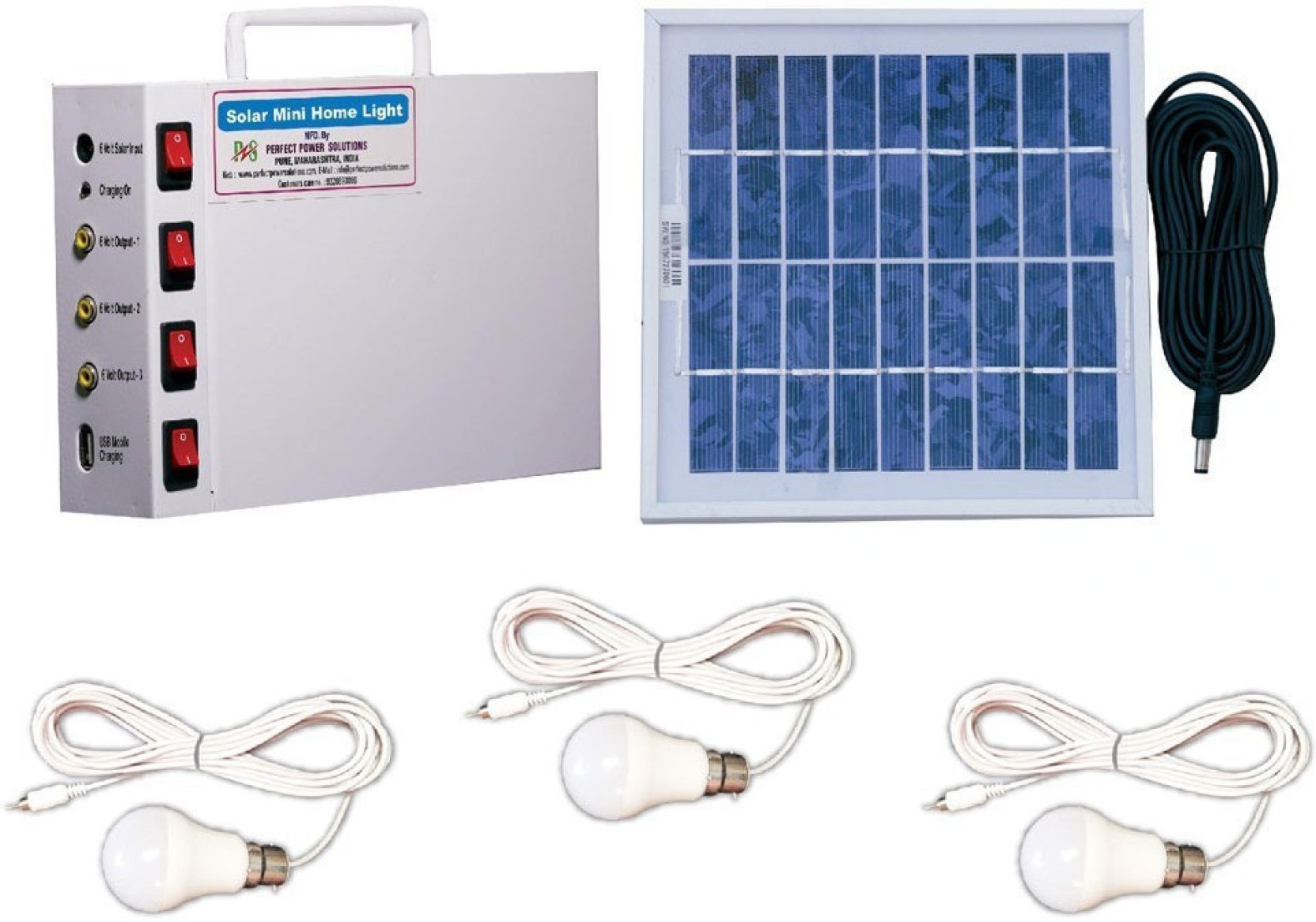 Perfect Power Solutions 6 Volt Solar Light Set Price In India Buy 6v Panel Circuit Diagram Add To Cart