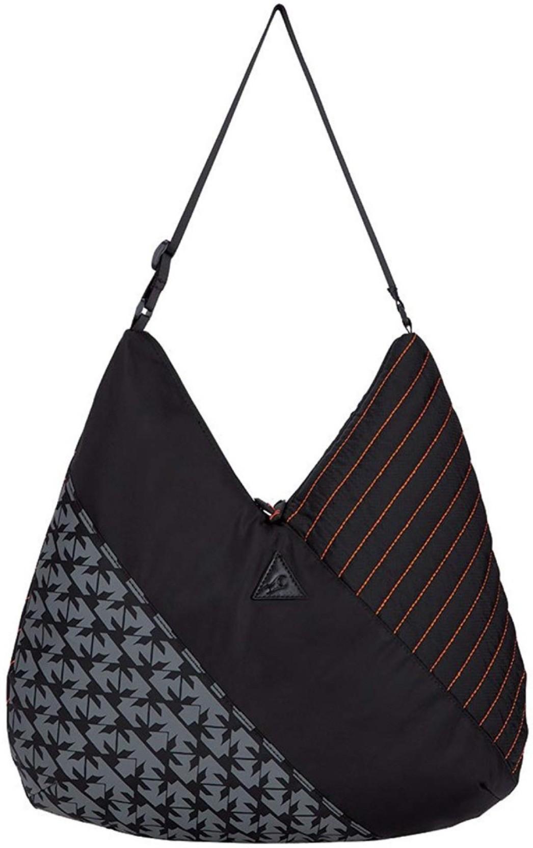 960ae062022f Fastrack Women Casual Black Nylon Sling Bag Black - Price in India ...
