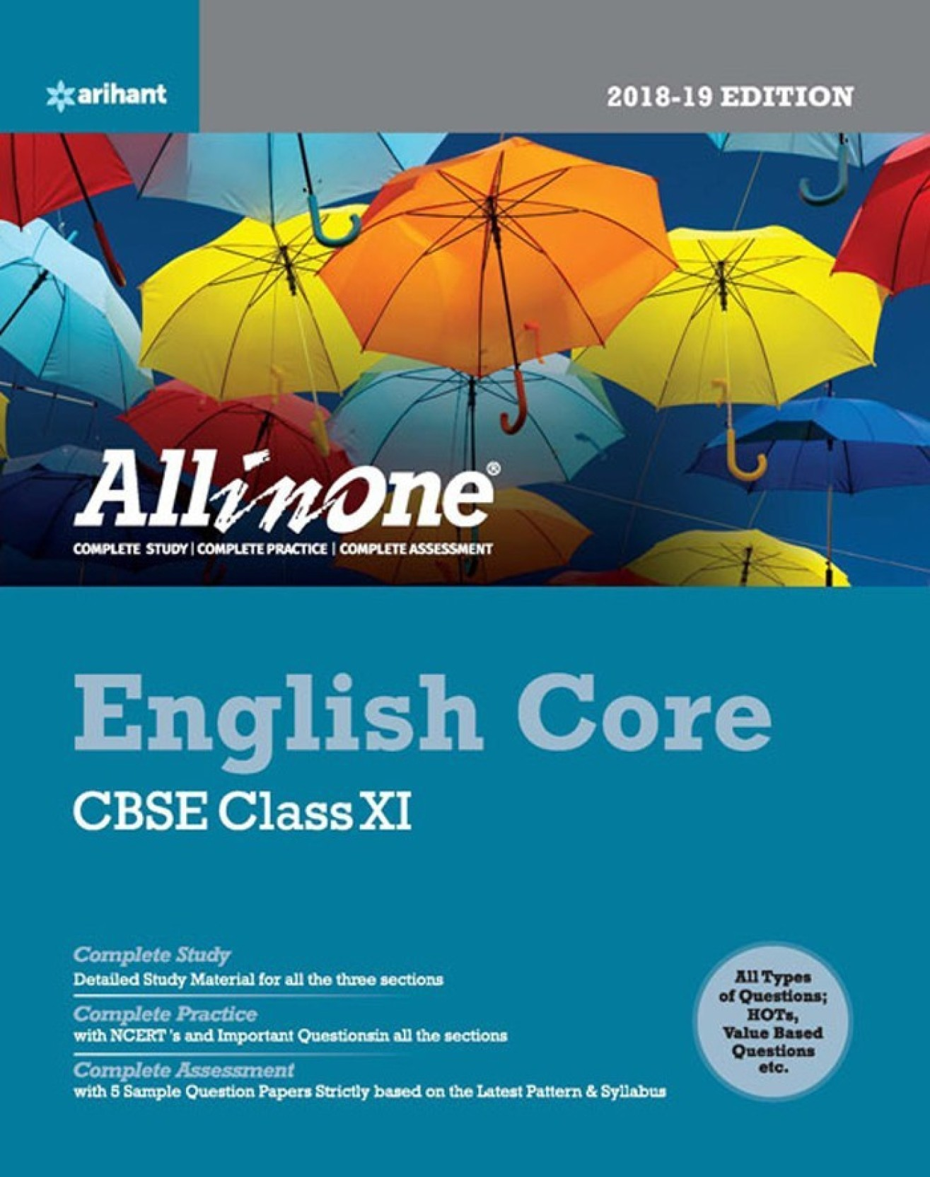 CBSE All In One English Core Class 11 for 2018 - 19 - Buy CBSE All ...