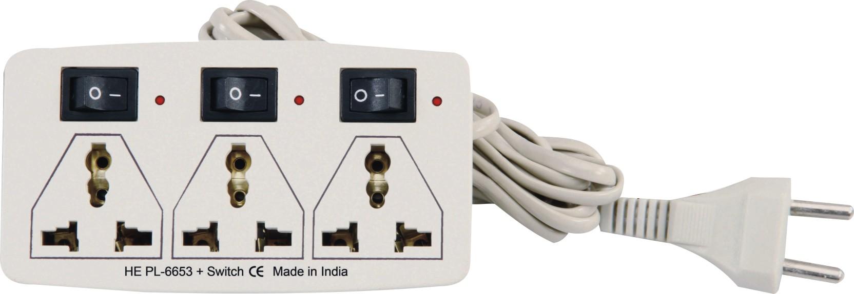 Sblaze Good Quality He Pl 6653 Mini Strip Power Extension Wiring Cord To Switch Add Cart
