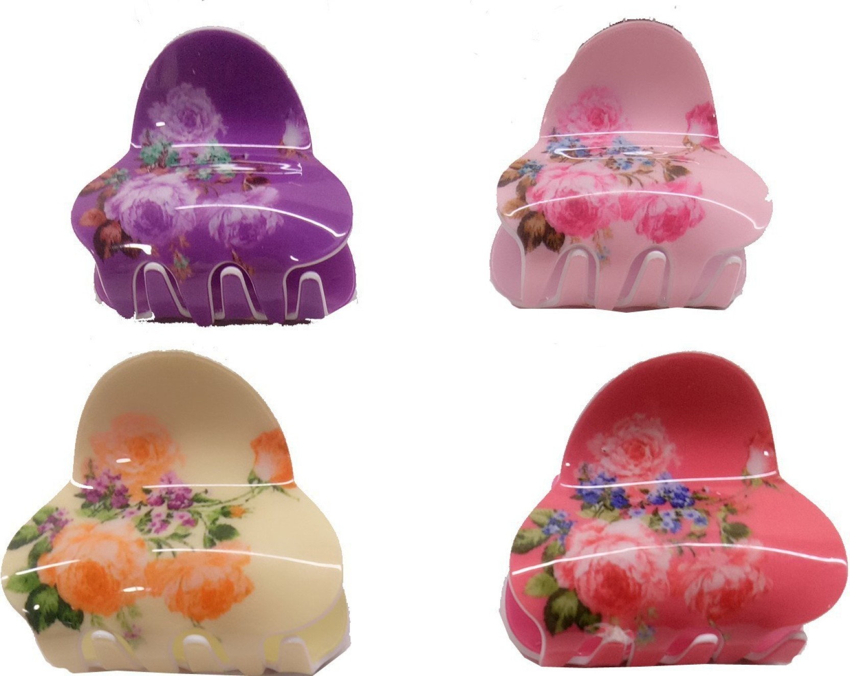 Pack of 4 Butterfly Hair Clips Ladies Girls Hair Accessories Hair Clamps