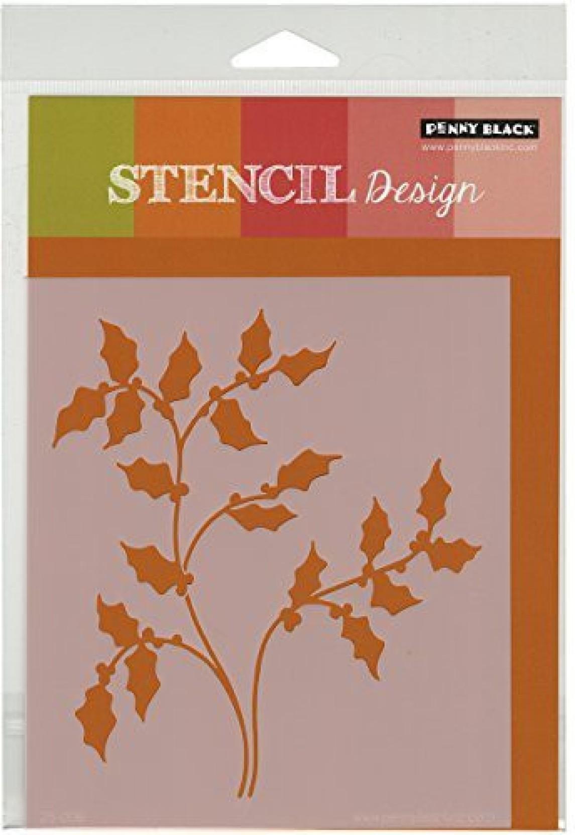 Penny Black 30-308 Peace /& Harmony Transparent Decorative Rubber Stamp Set