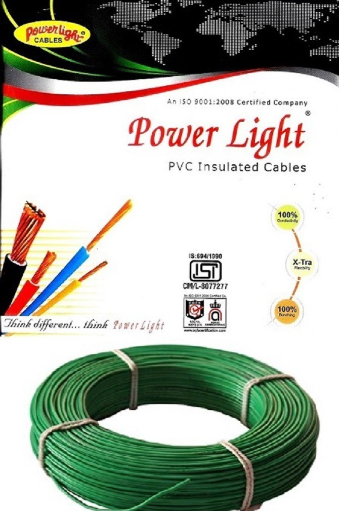 Power Light Pvc 1 Sq Mm Green 90 M Wire Price In India Buy Wiring A Electric Big Diwali Sale Ends In18 Hrs 29 Mins 40 Secs