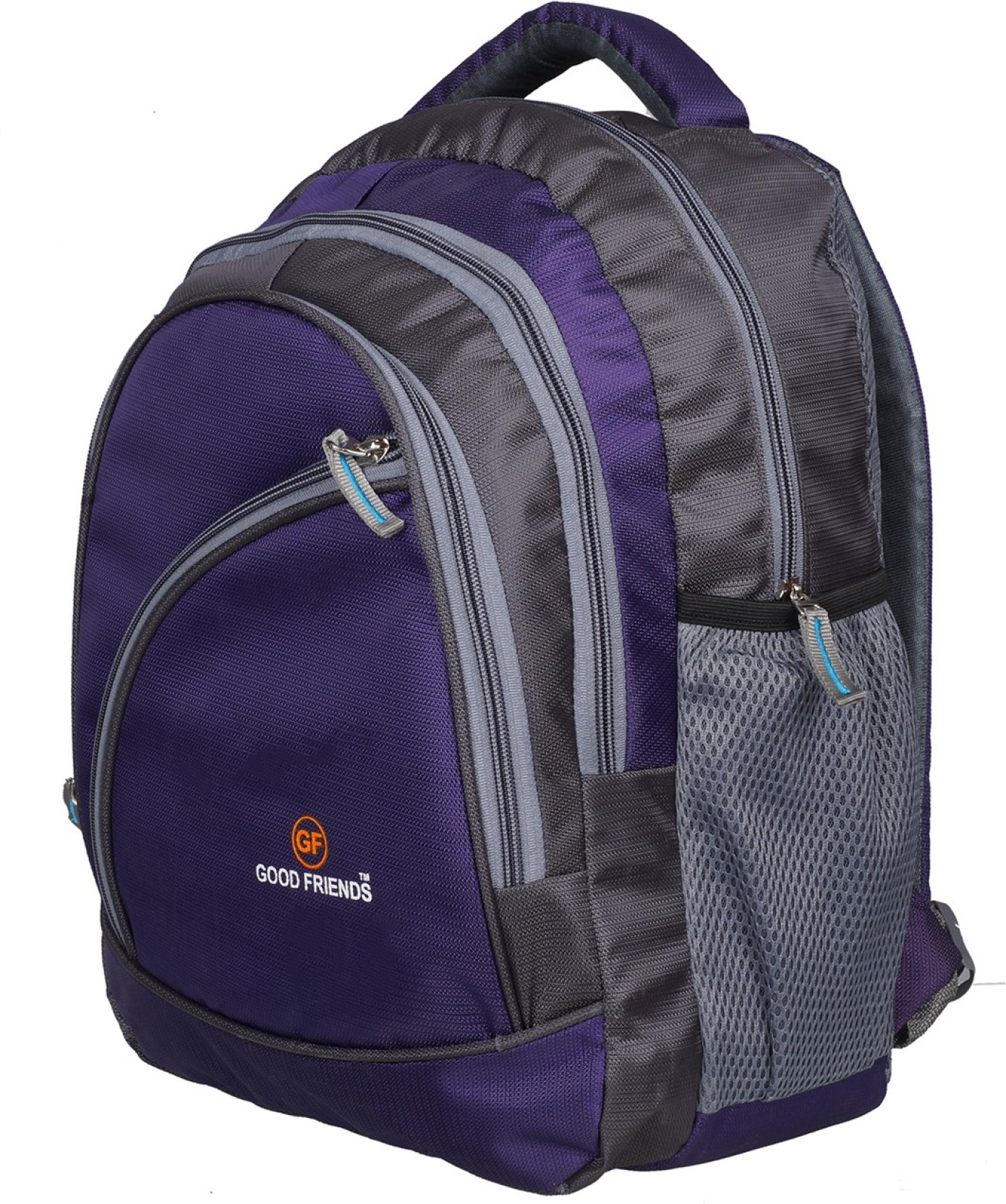 Good Friends 3 To 5 Class High Quality Zip Backpack Waterproof School Bag  (Purple 356f616464509