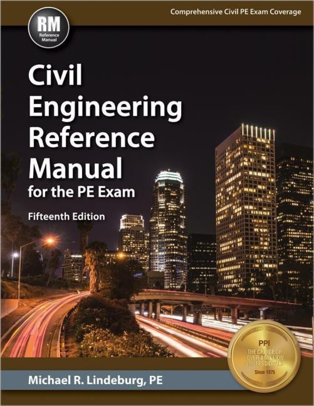 Civil Engineering Reference Manual for the PE Exam. ADD TO CART