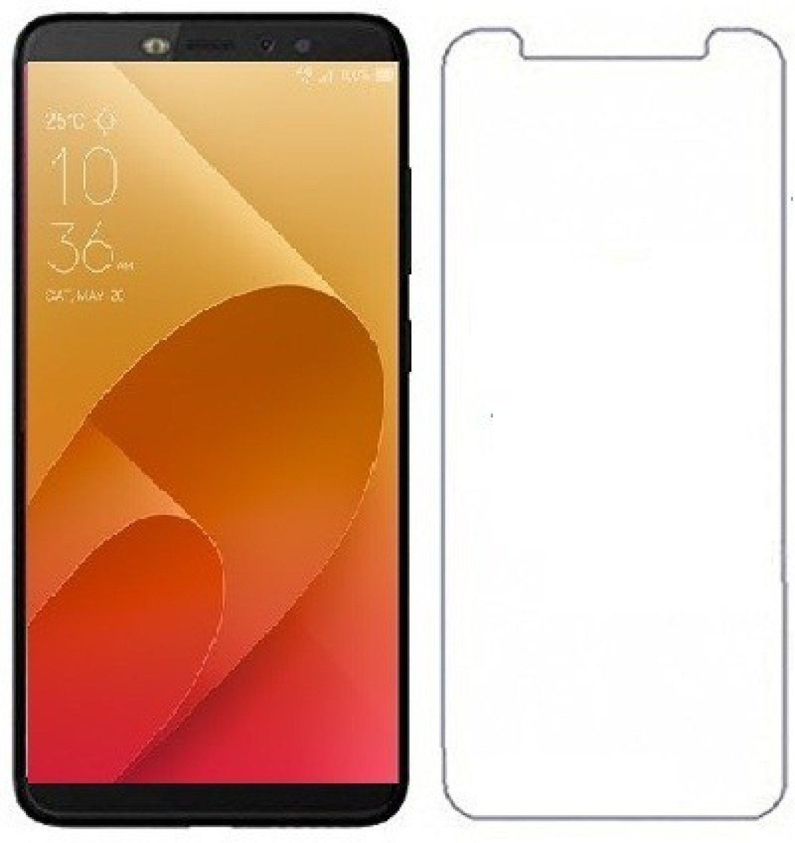 THE BEST CHOICE Screen Guard for Infinix Hot S3, infinix