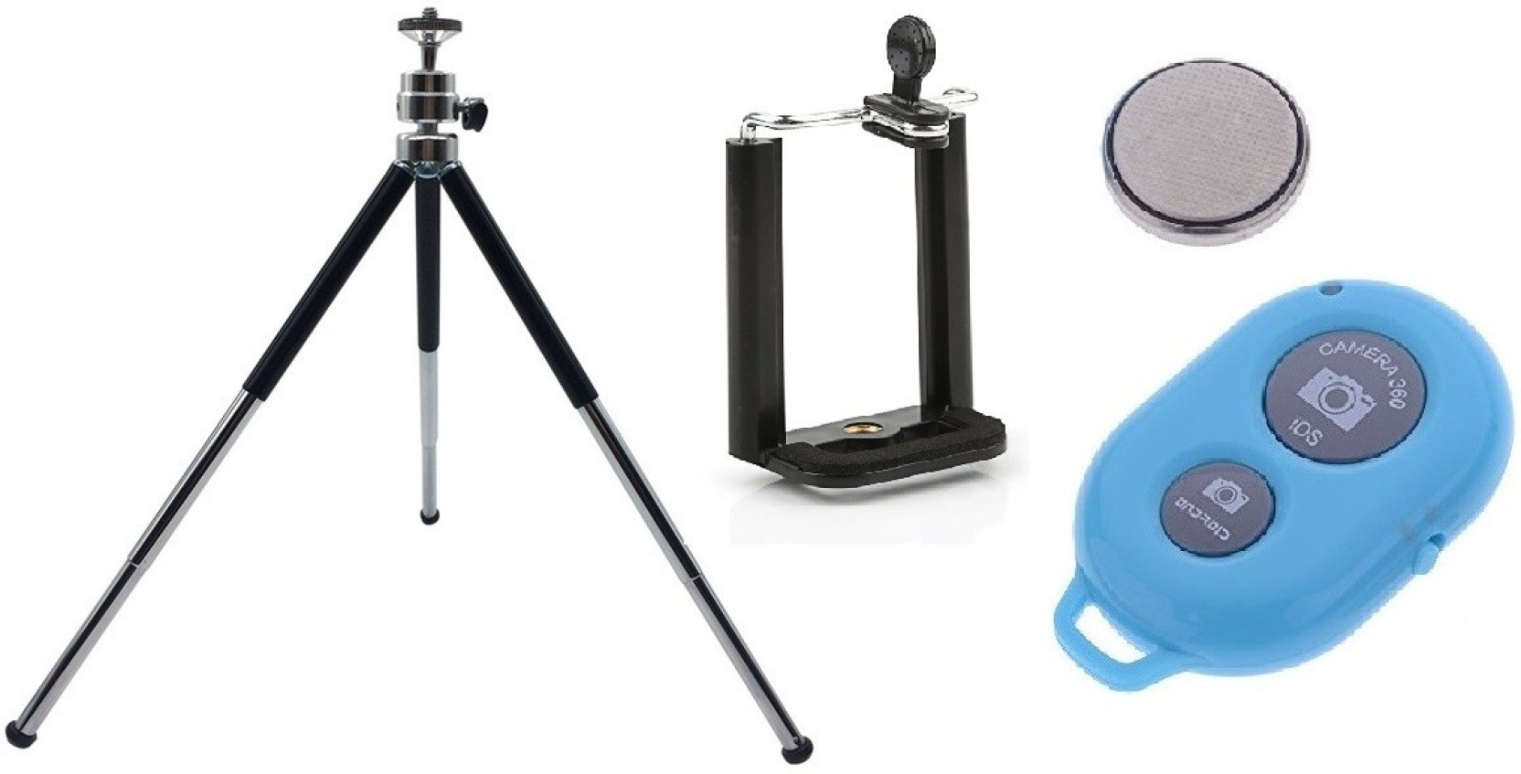 Retrack 10inch Aluminum Metal Mobile Camera Stand With Bracket And Tongsis 3 In 1 Tripod Bluetooth Shutter Add To Cart