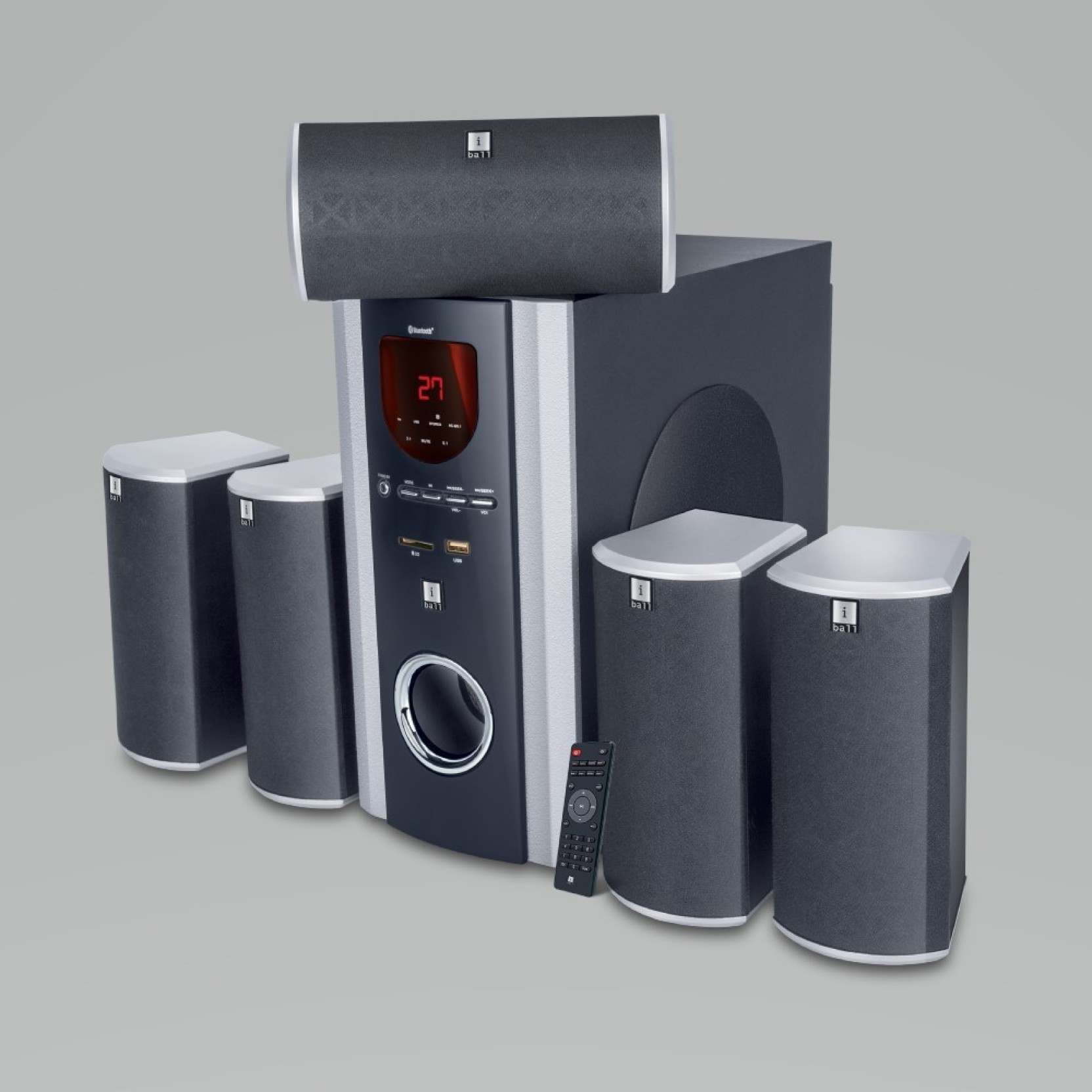 Buy Iball Booster Bth Bluetooth Home Audio Speaker Online From Add To Cart