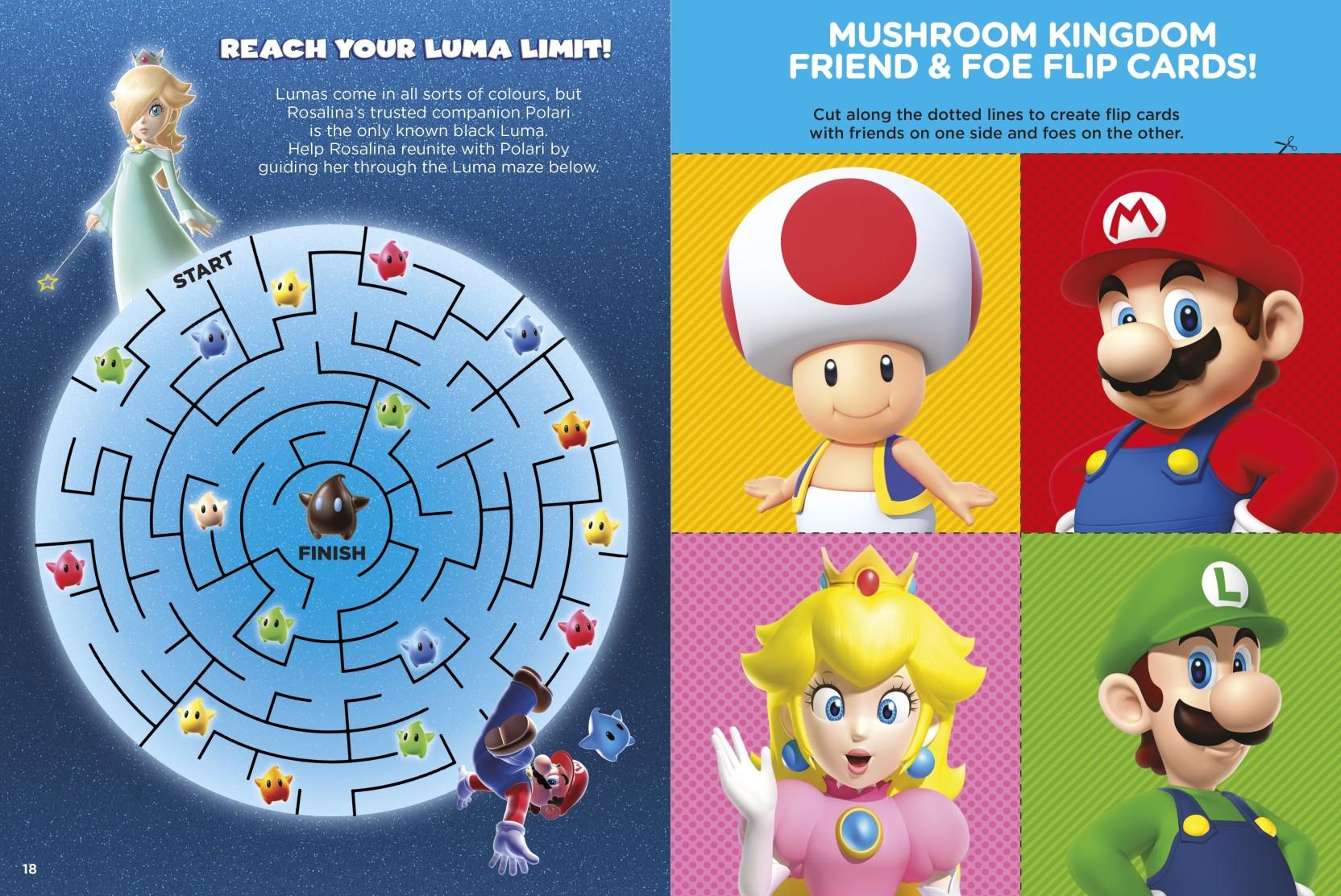 Super Mario: Official Sticker Book: Buy Super Mario