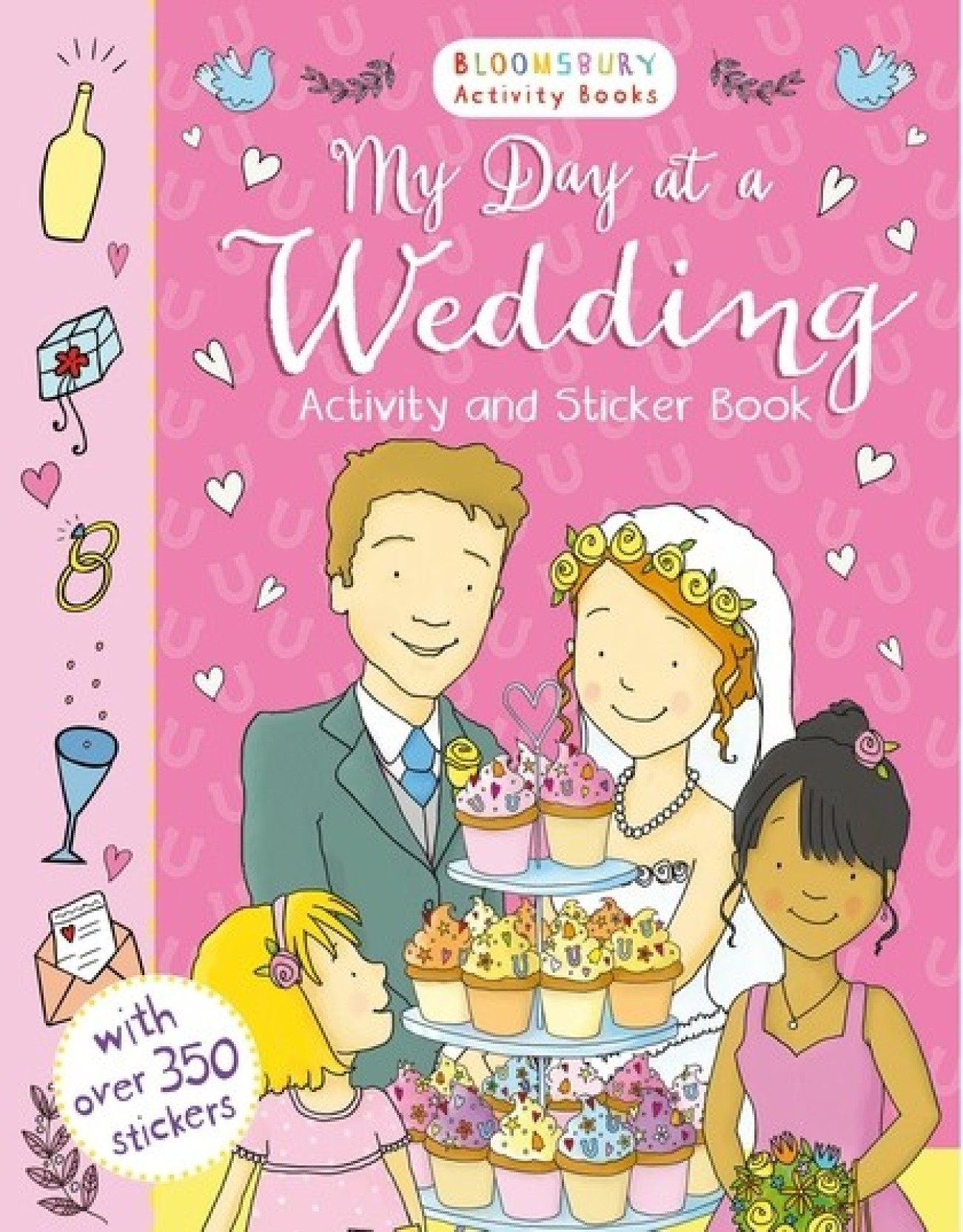 My Day At A Wedding Activity And Sticker Book Buy Books Pretty Pink Add To Cart