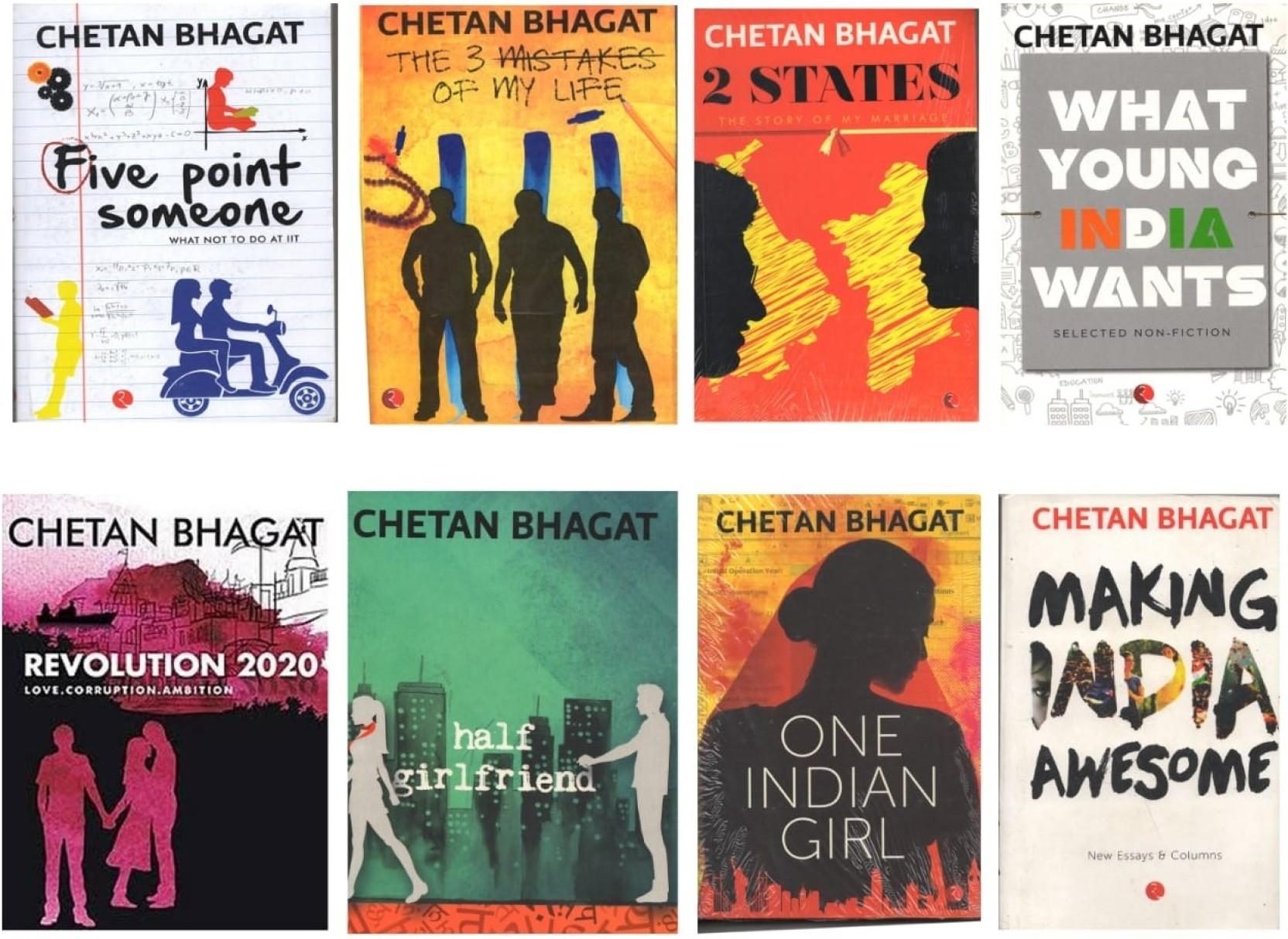 Image result for chetan bhagat books