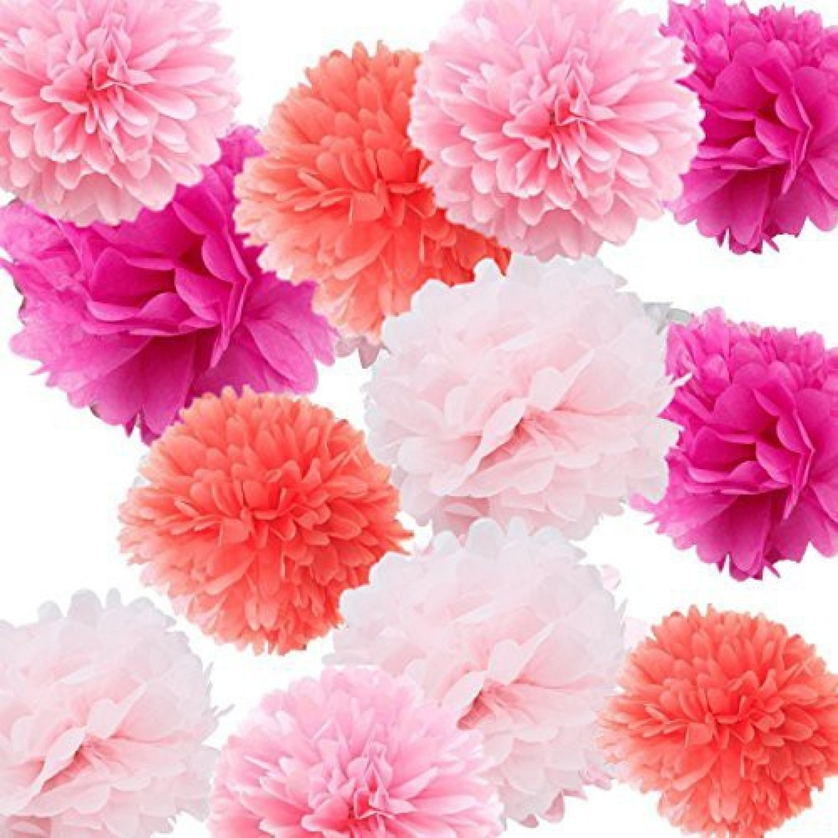 Fonder Mols Tissue Paper Flowers Decoraitons For Wall Handcraft